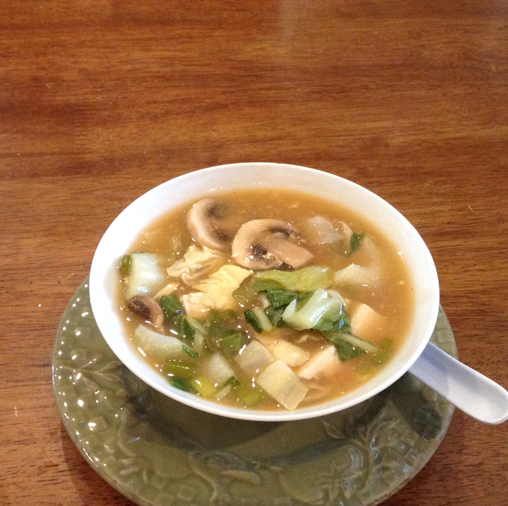 Hot and Sour Tofu Soup (Suan La Dofu Tang) Patricia