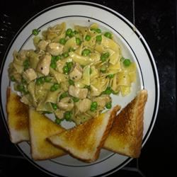 One Dish Chicken Noodles