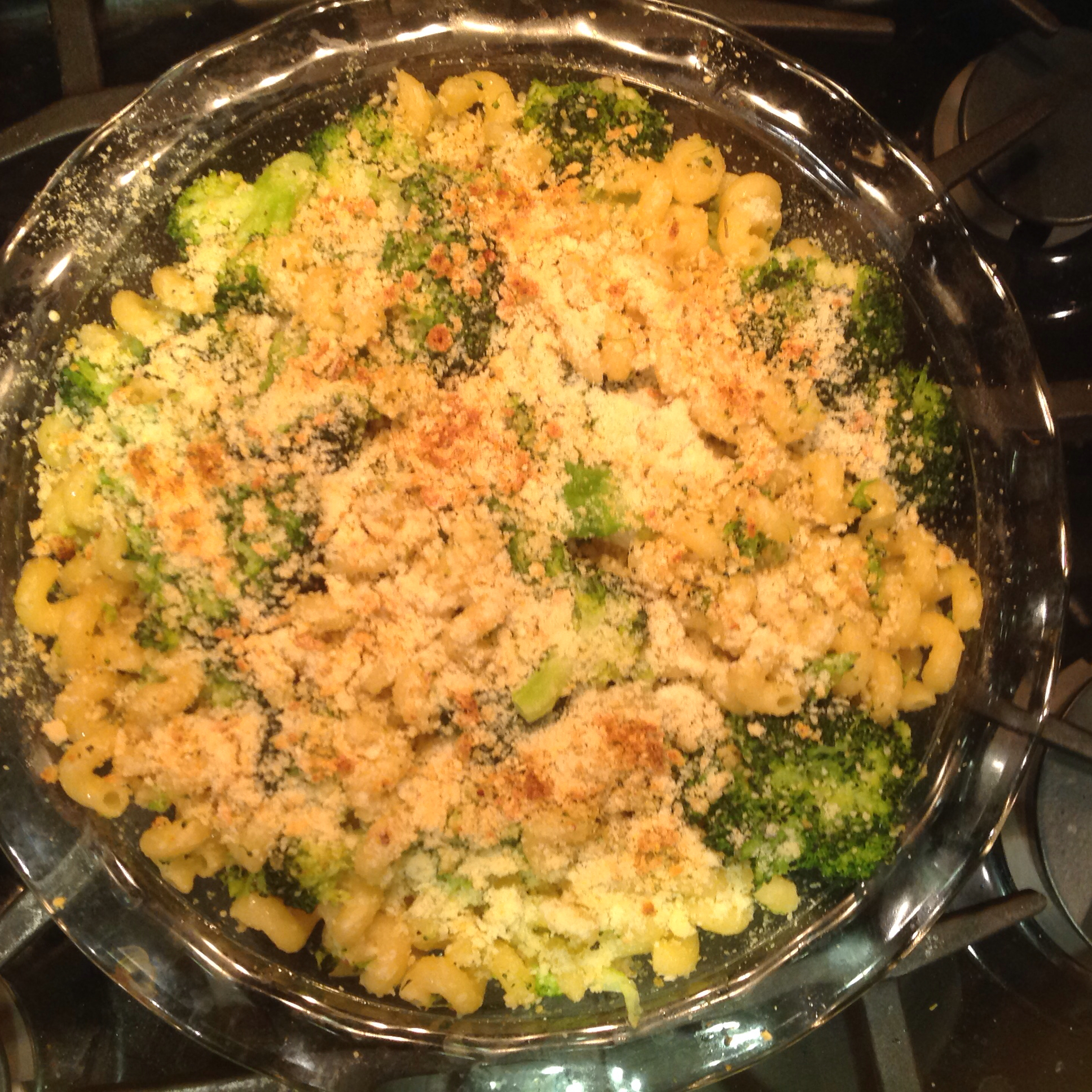 Orecchiette and Broccoli Crisp