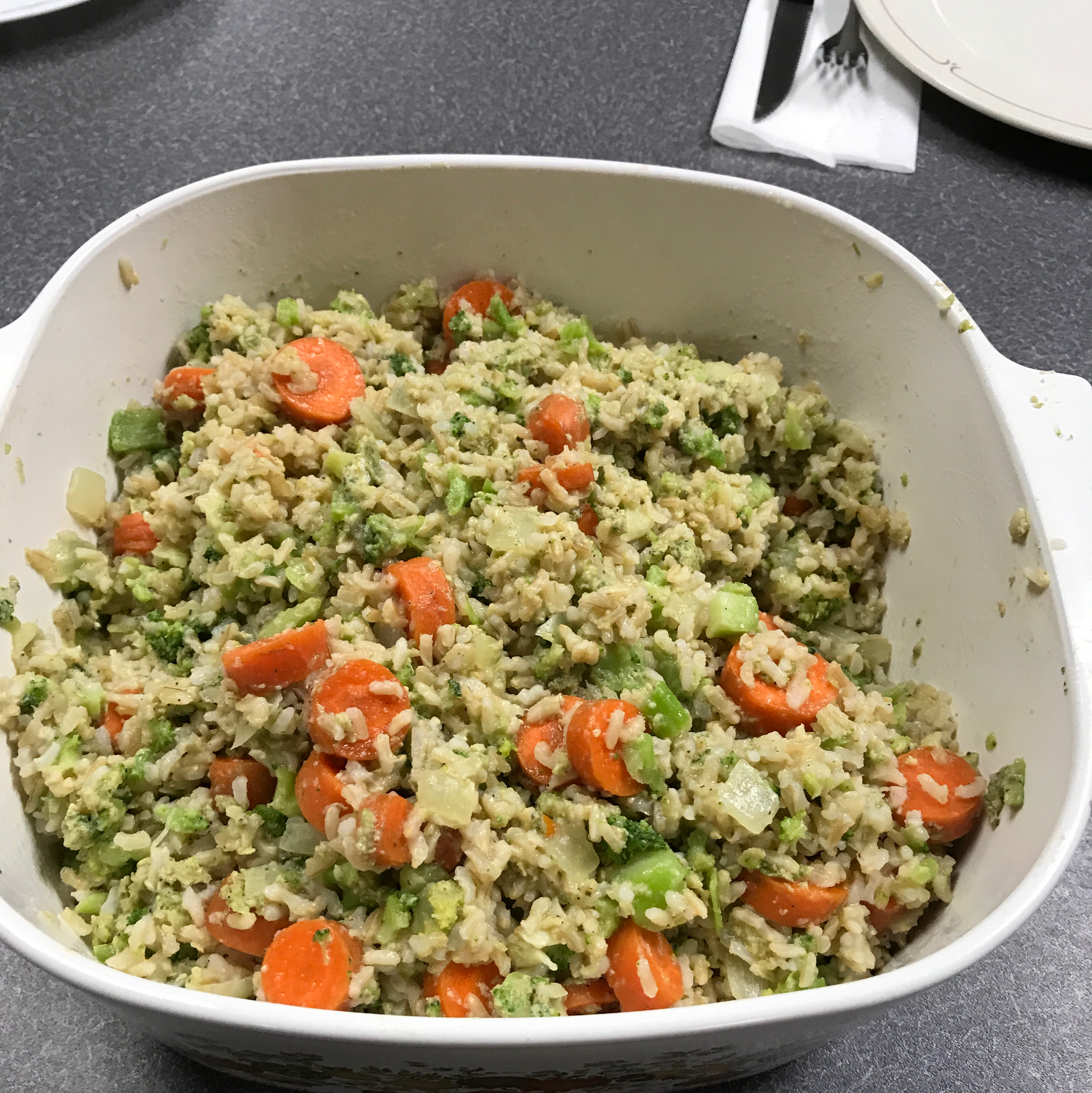 Home-Style Brown Rice Pilaf Chui8