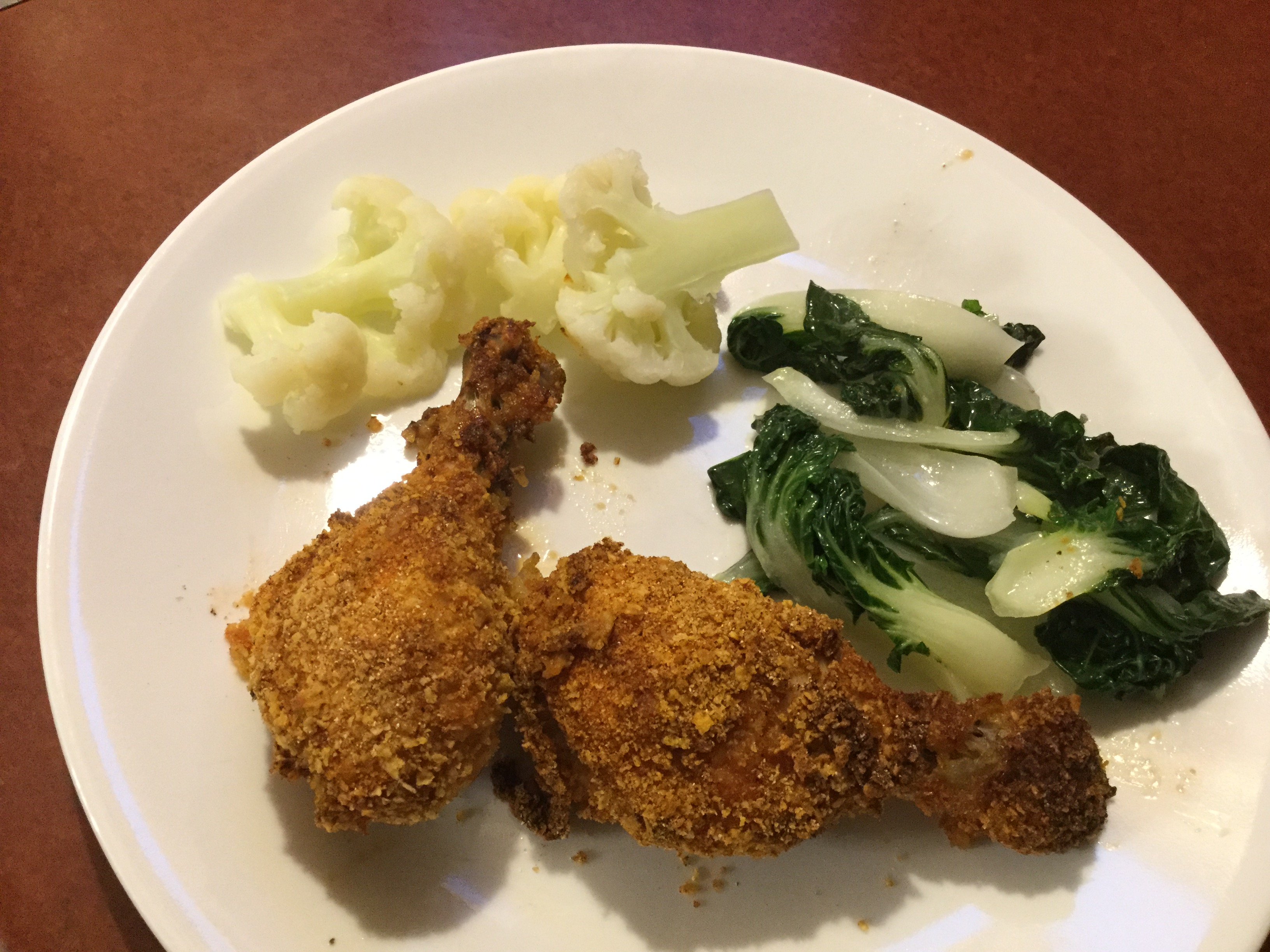 Barbeque Buttermilk Oven-Fried Chicken manella