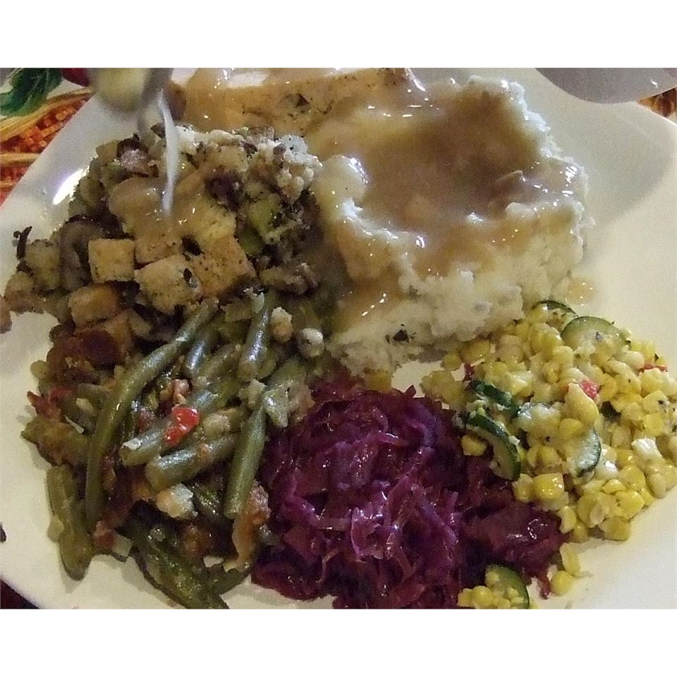Leslie's Broccoli, Wild Rice, and Mushroom Stuffing