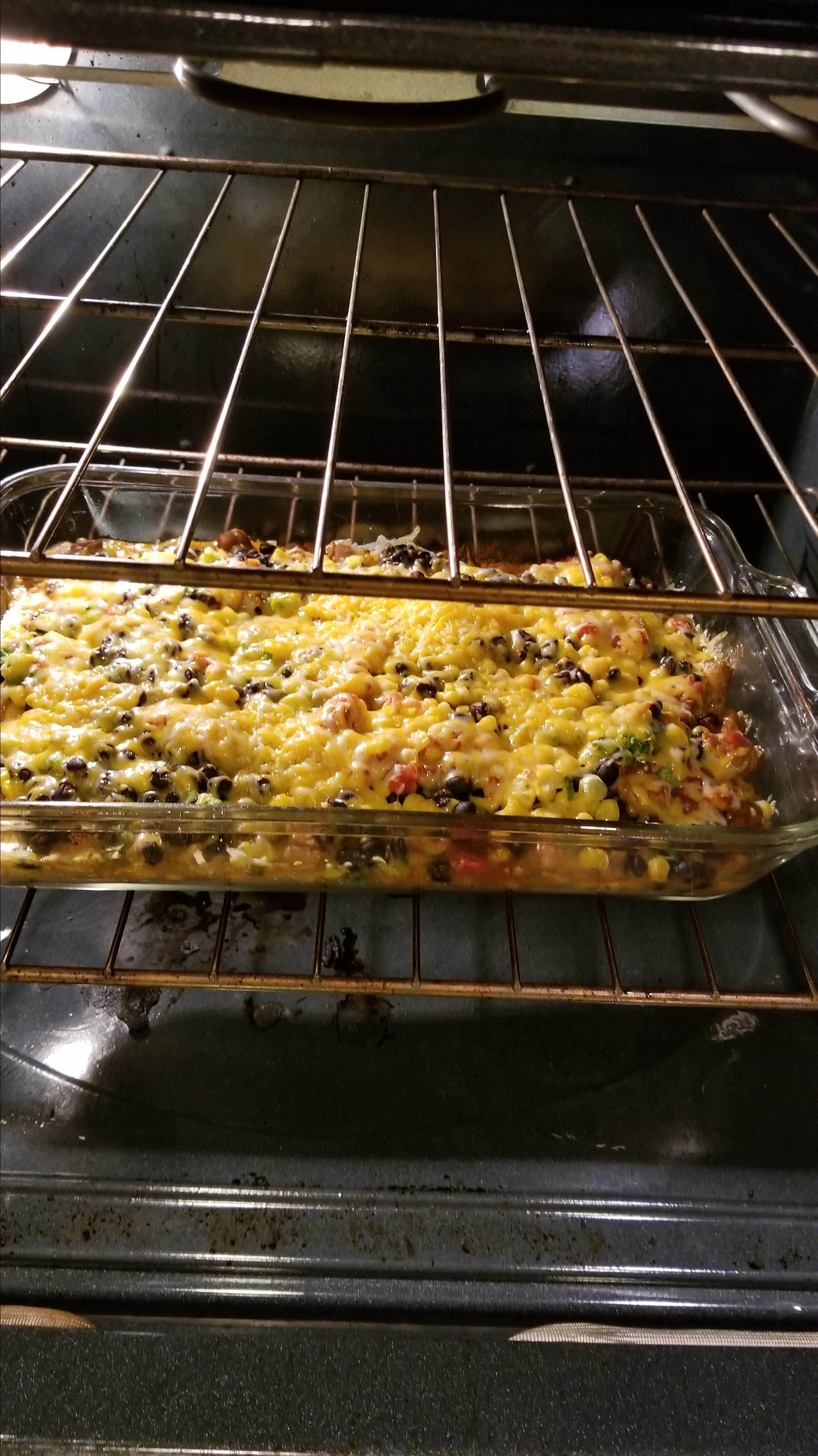 Southwest Chicken Bake
