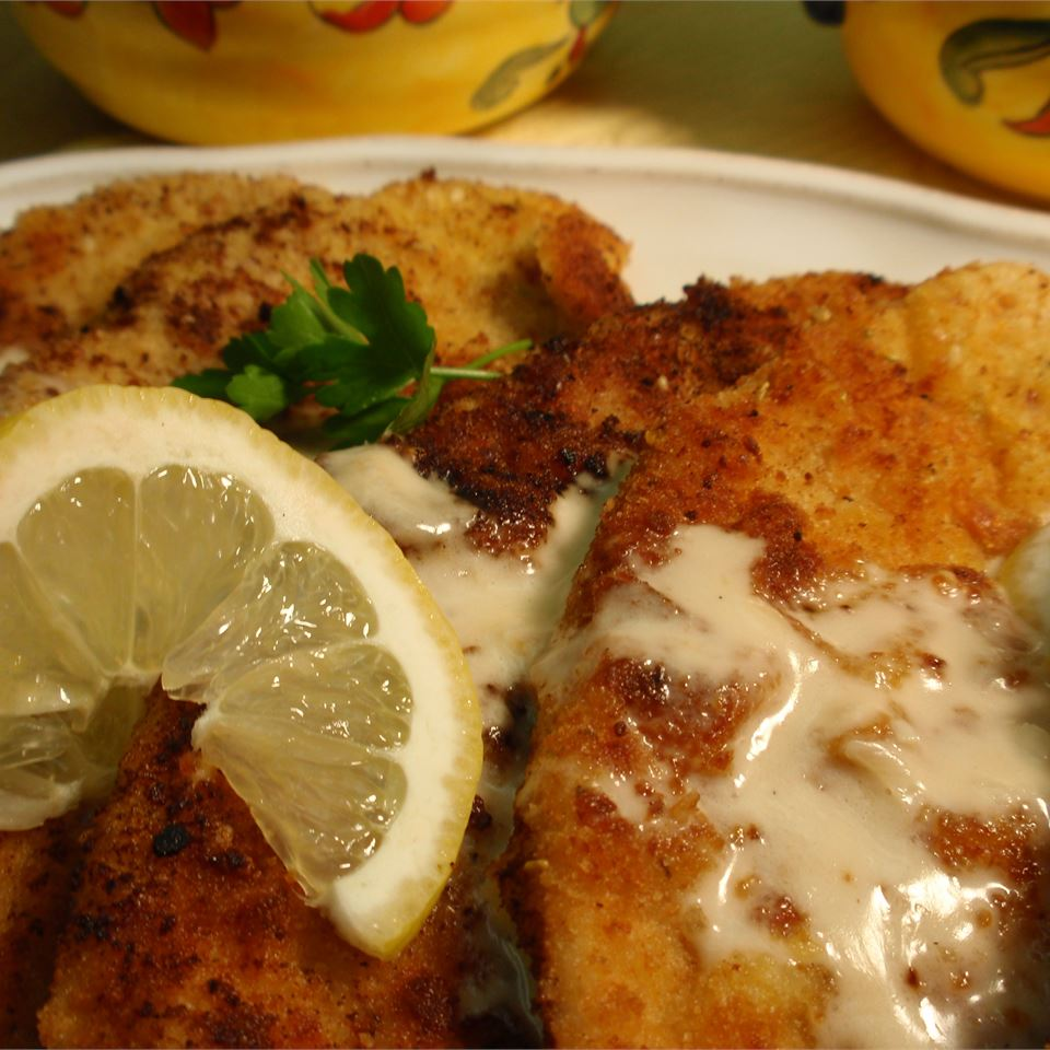 Veal Scaloppini with Lemon Cream Sauce