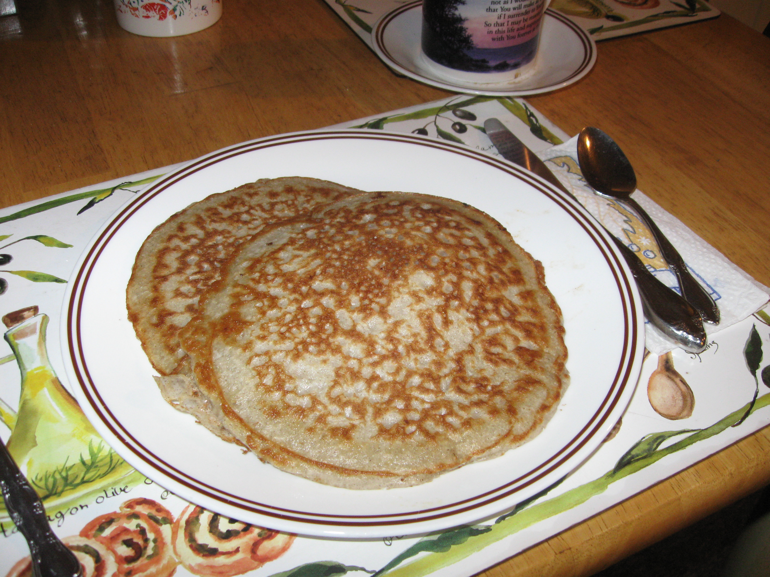 Old Fashioned Sour Buckwheat Pancakes Recipe Allrecipes