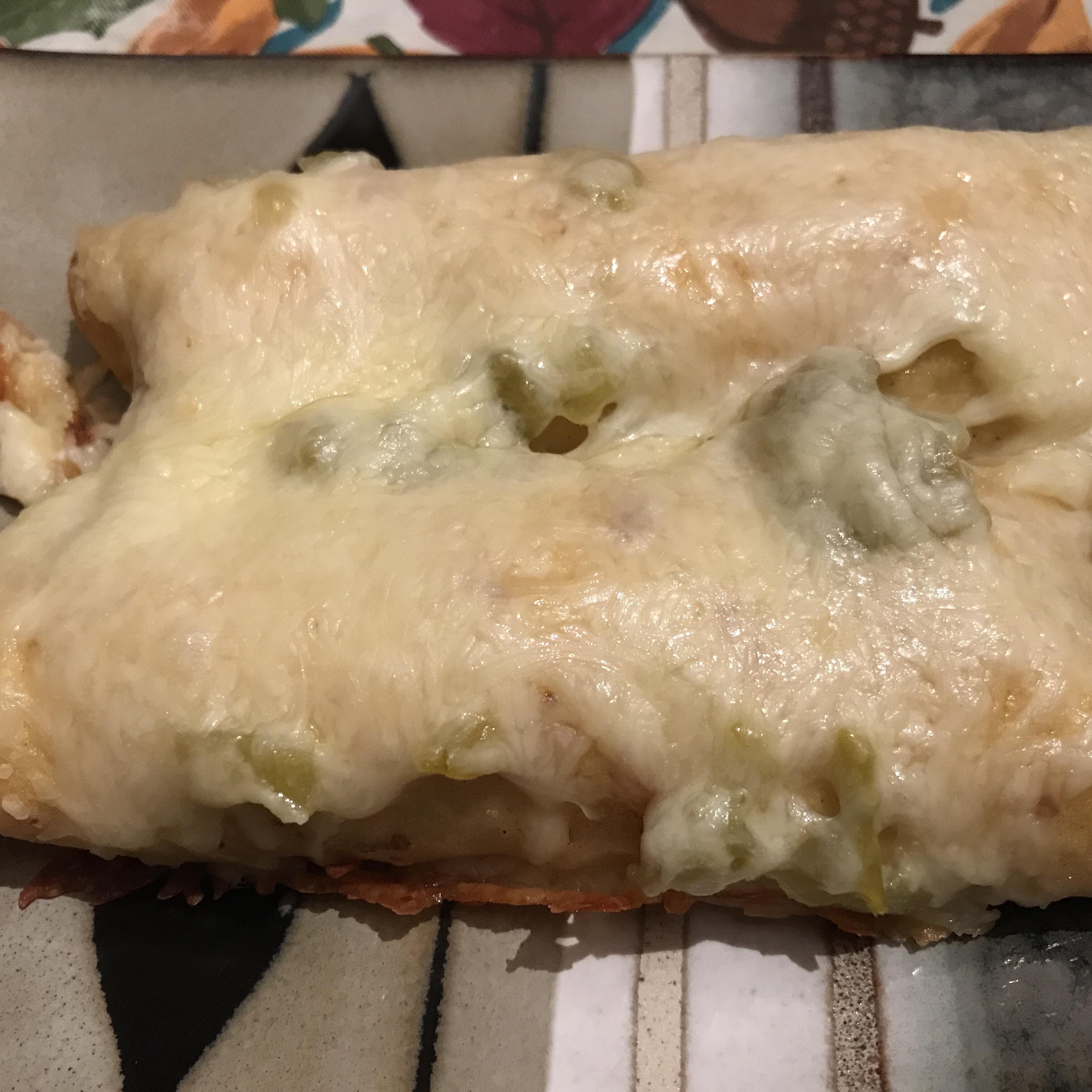 Enchanted Sour Cream Chicken Enchiladas jennkrid613