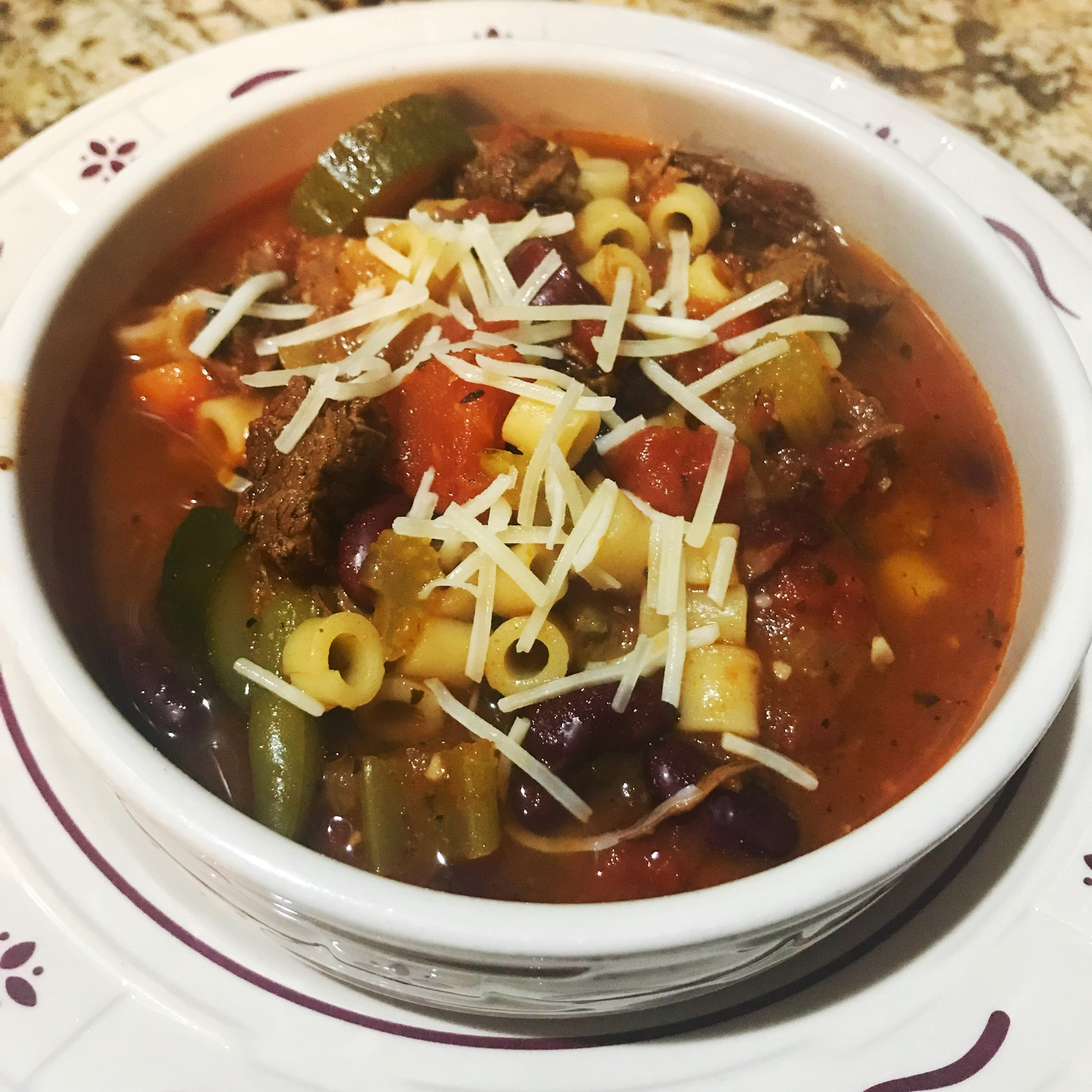 hearty minestrone soup instant pot recipe