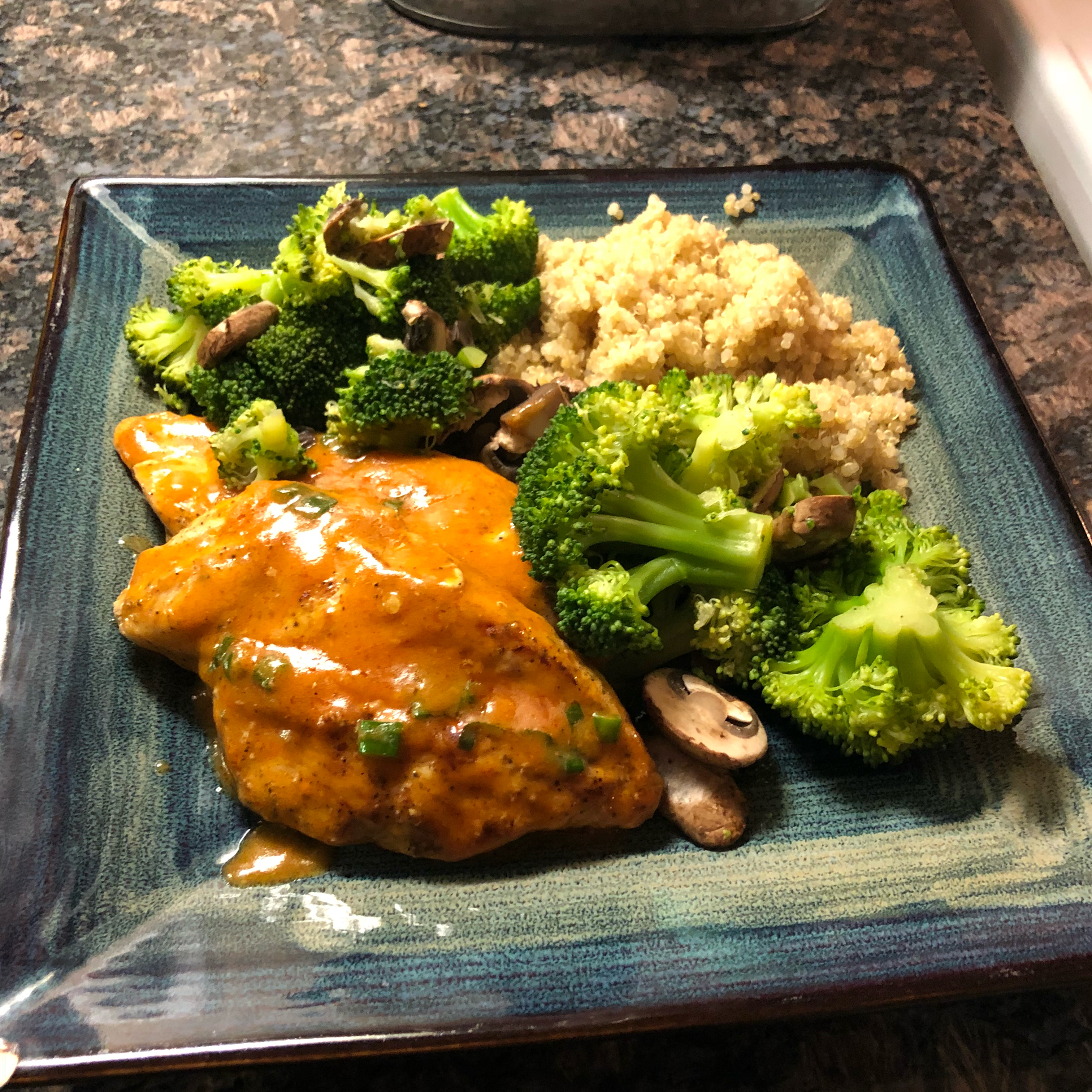 Chicken Breasts with Chipotle Green Onion Gravy Mayra Mejia