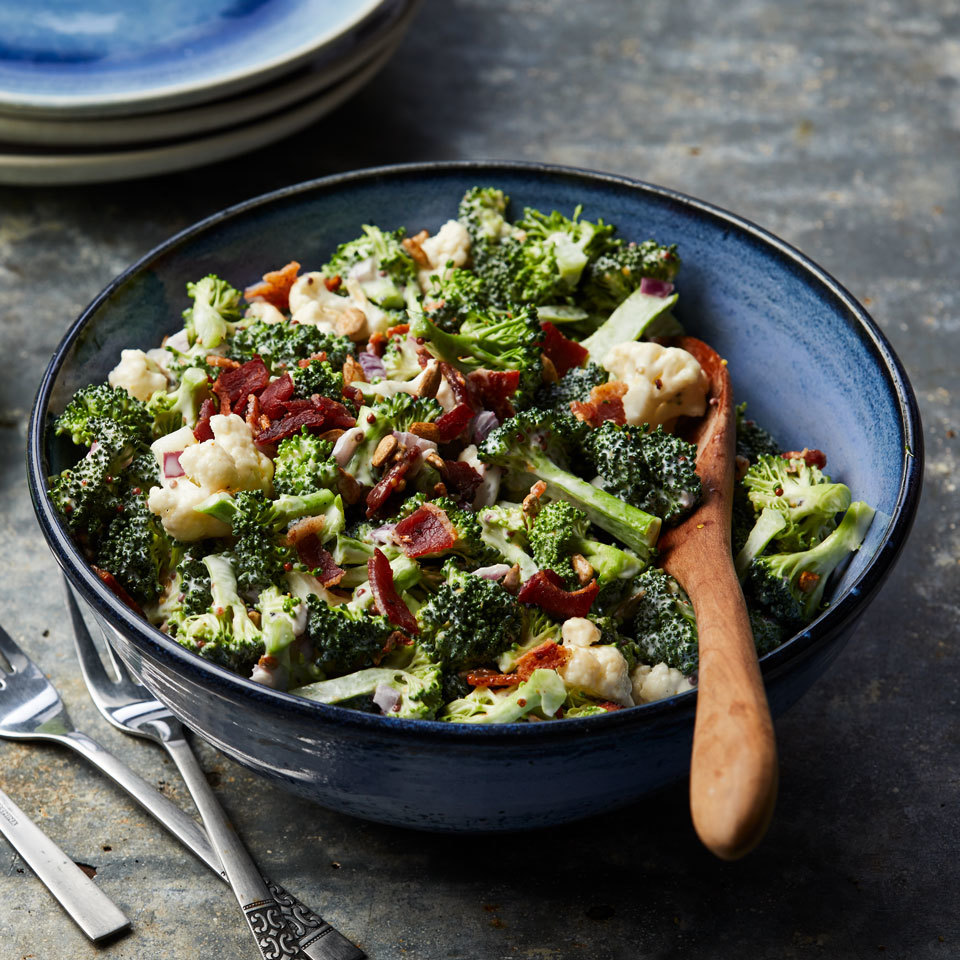 Broccoli Salad With Bacon Recipe Eatingwell