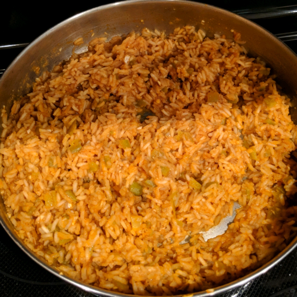 My Favorite Mexican Rice - Printer Friendly
