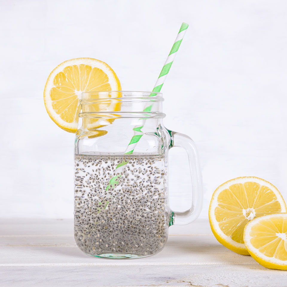 Healthy Gut Tonic with Chia Victoria Seaver, M.S., R.D.