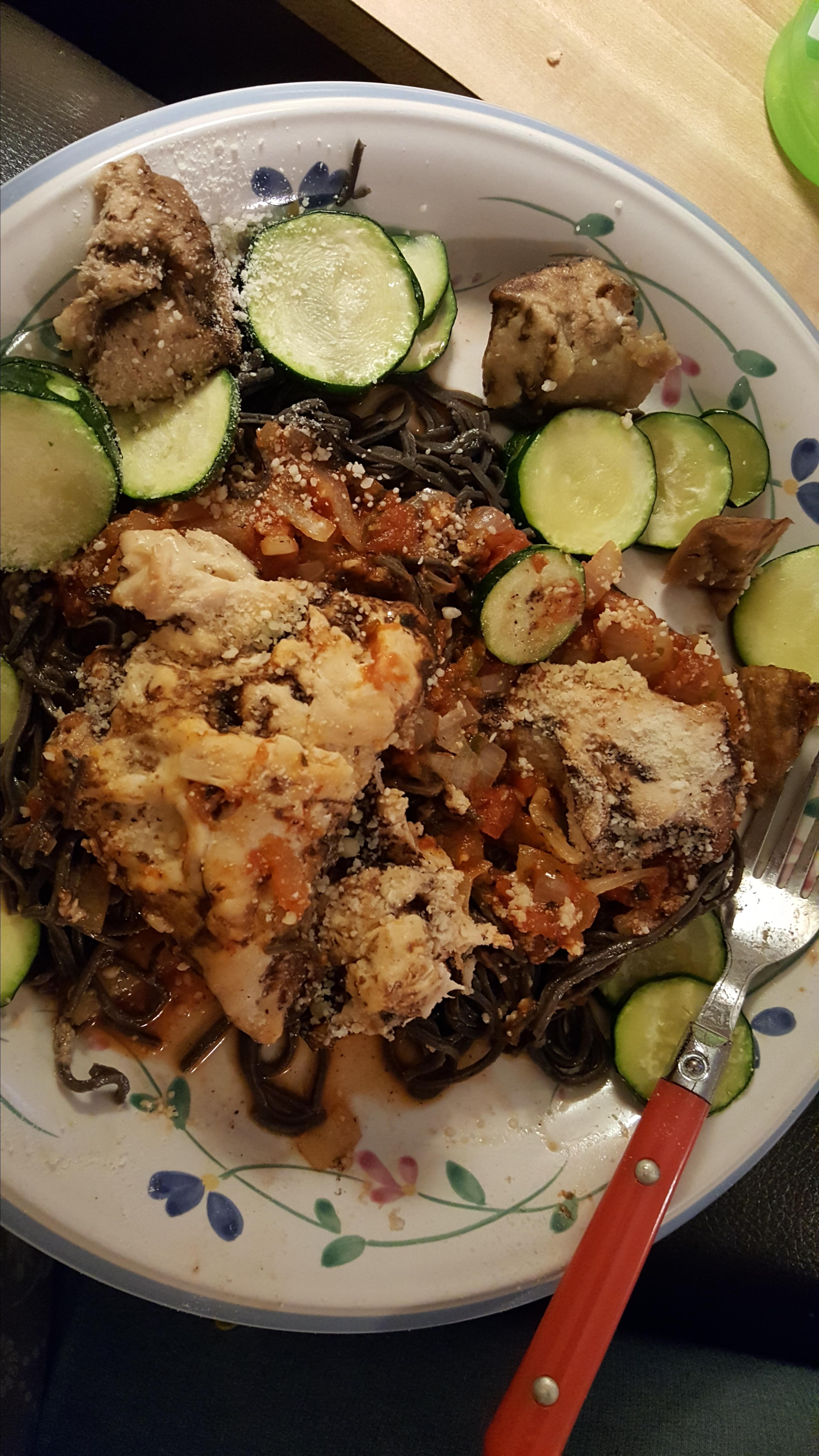 Mediterranean Baked Chicken with Pasta