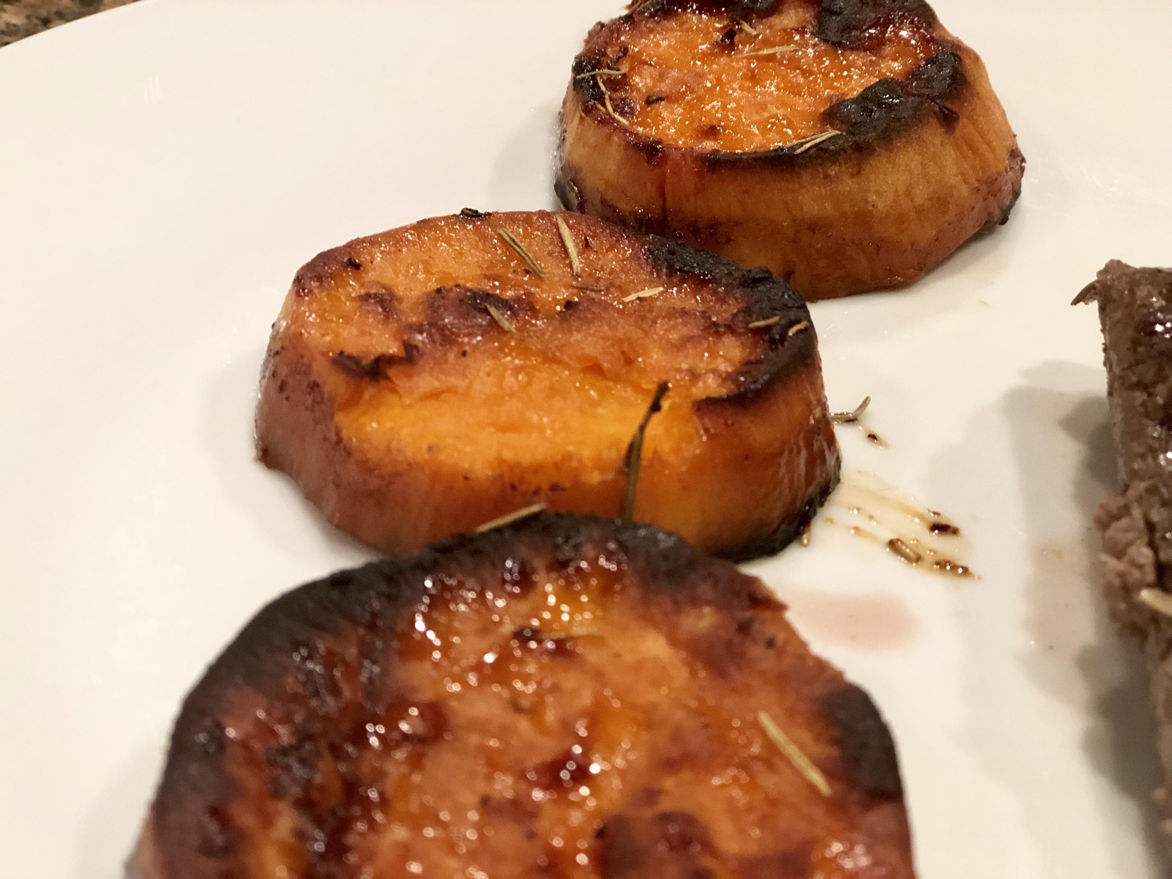 Instant Pot(R) Roasted Melting Sweet Potatoes