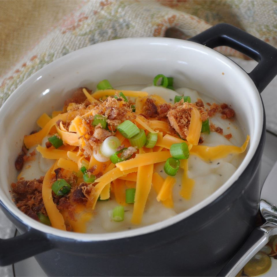 Restaurant-Quality Baked Potato Soup