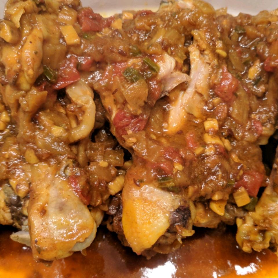 Punjabi Chicken in Thick Gravy Mary Zink