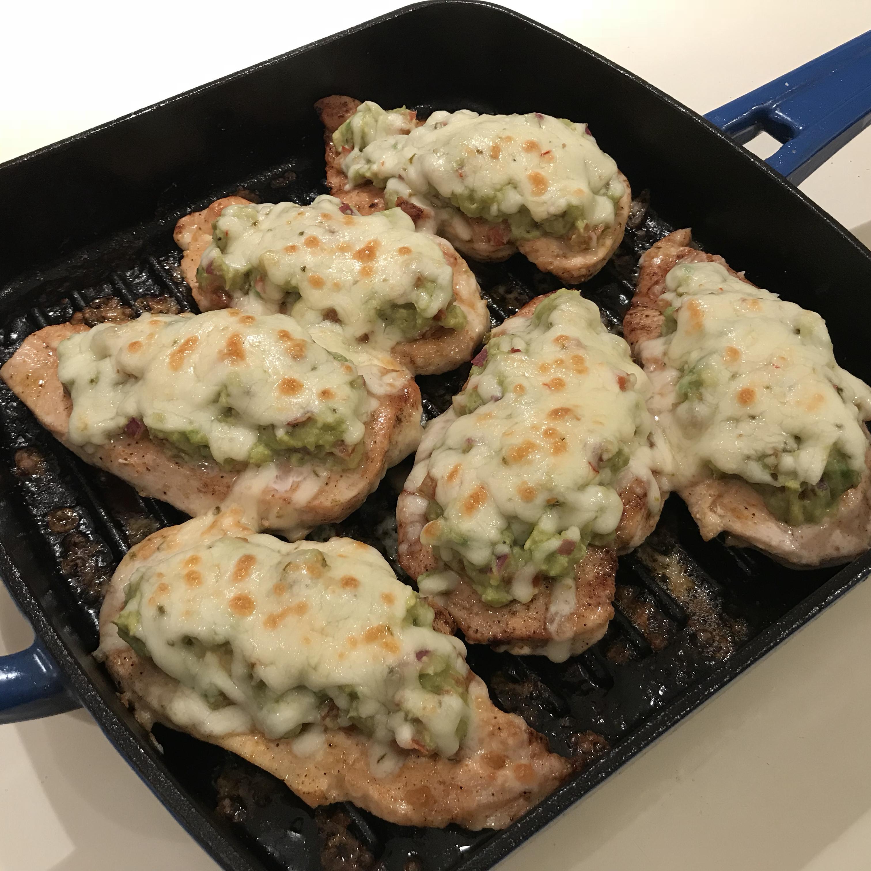 Guacamole Chicken Melt