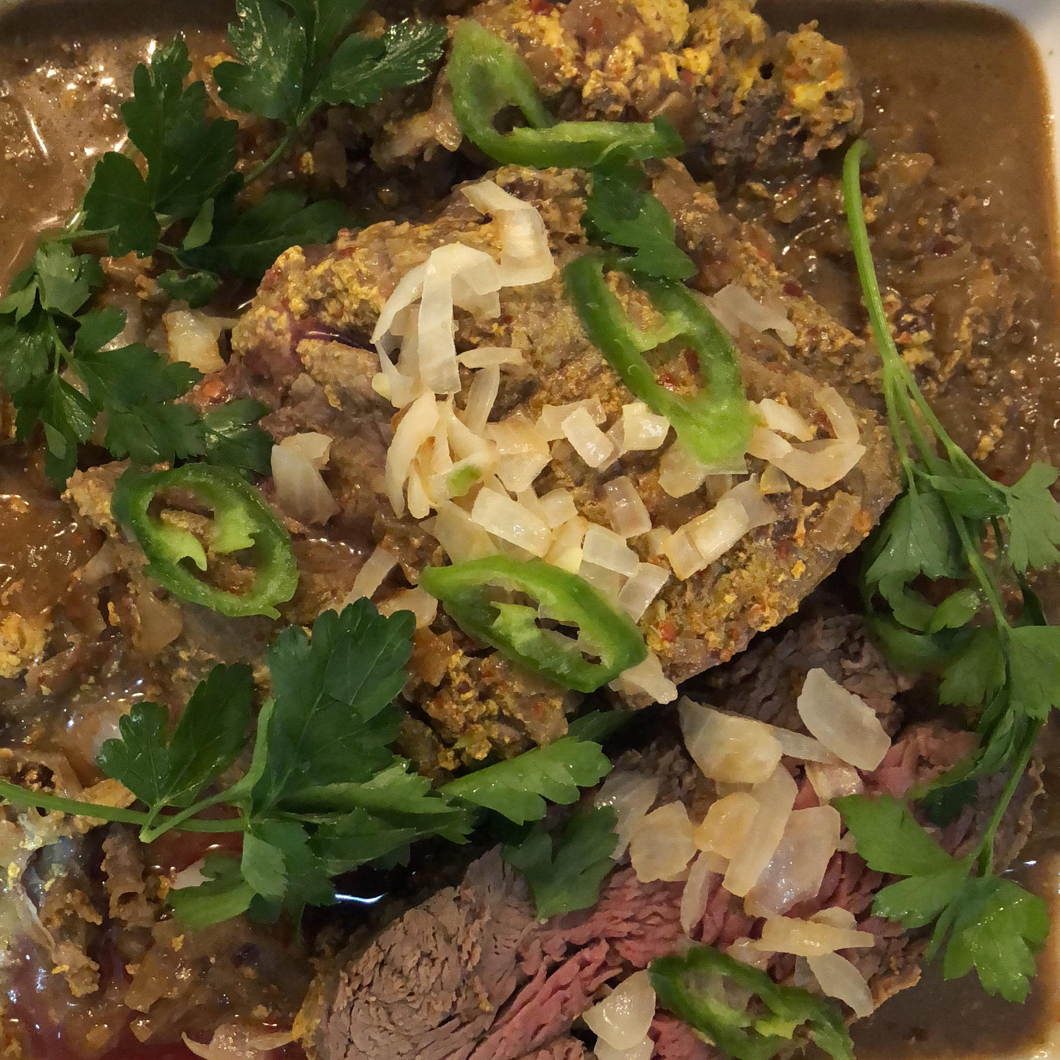 Pakistani Pot Roast Beef Fillets (Pasanday)