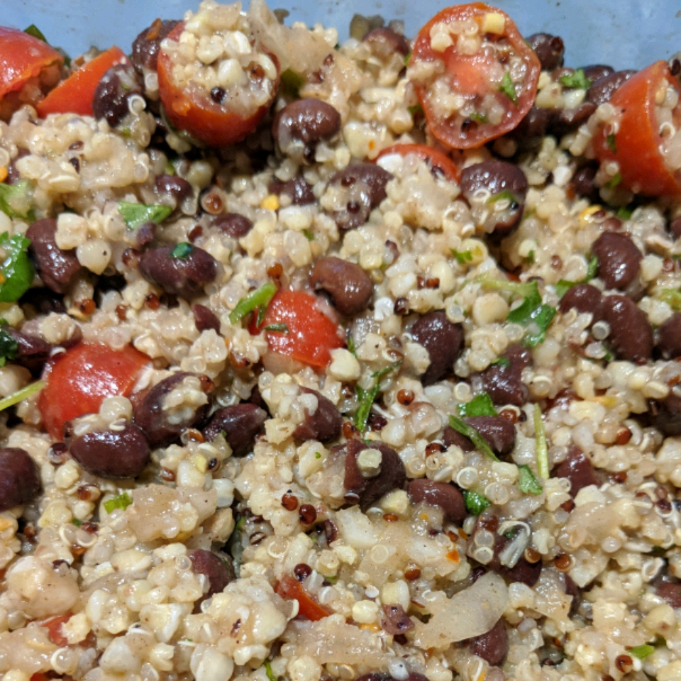 Mediterranean Quinoa Salad LuvMeSumofThat