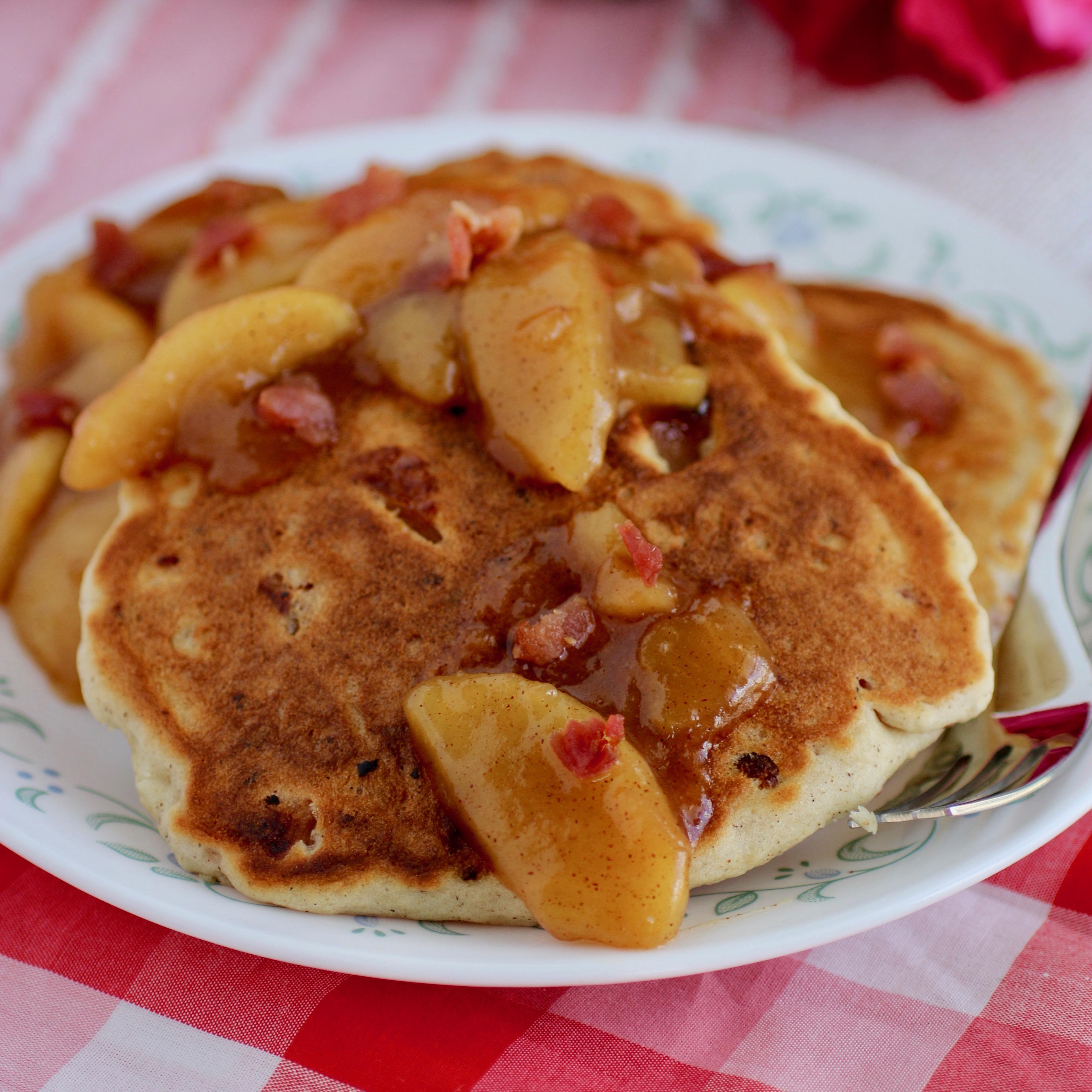 Bacon Bourbon Apple Pancakes Cat Hill