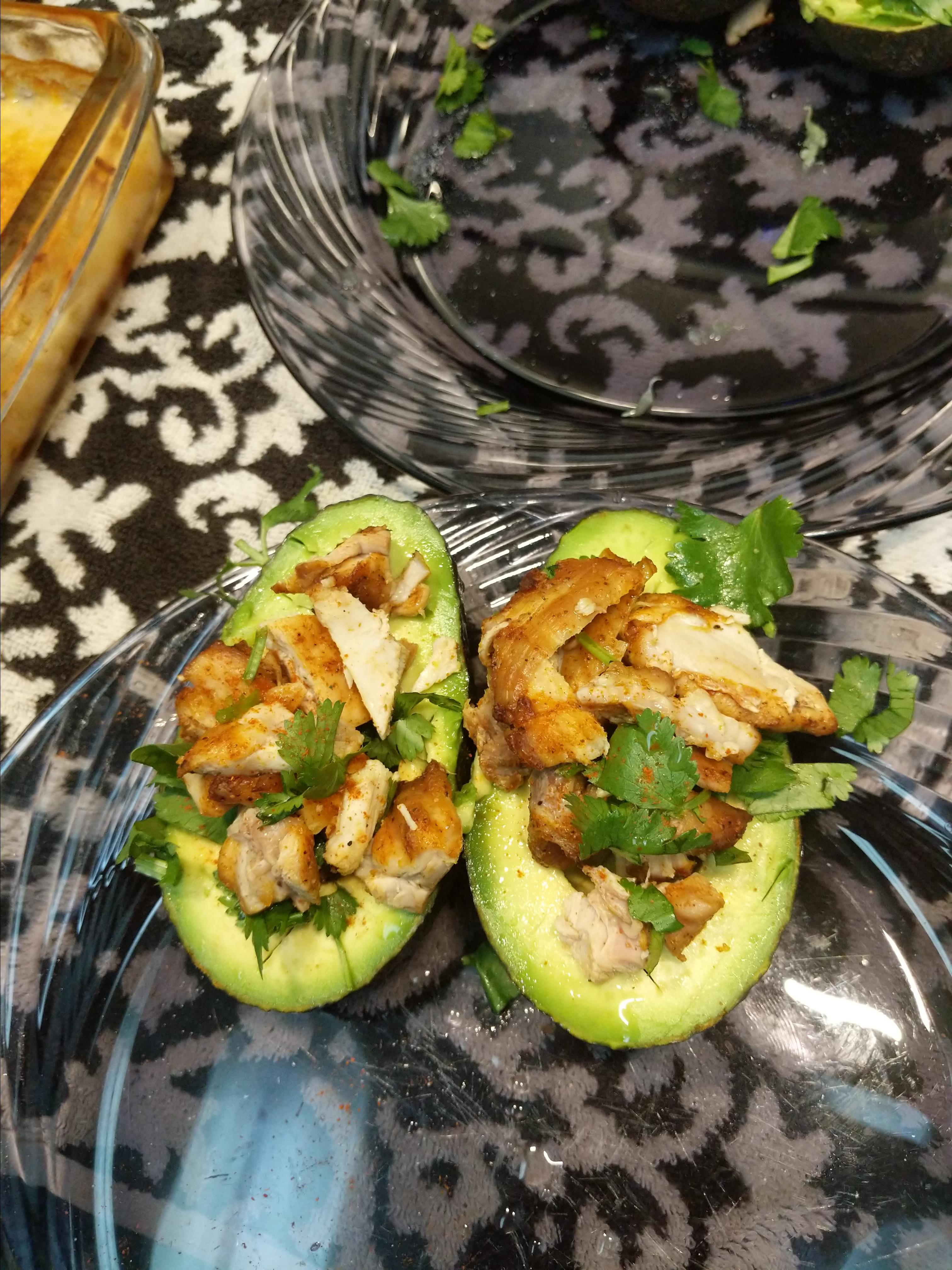 Mexi-Chicken Avocado Cups Princess Stout