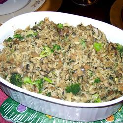 Leslie's Broccoli, Wild Rice, and Mushroom Stuffing Taxito4