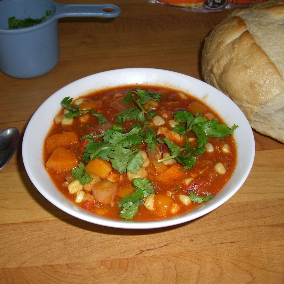 Spicy Chicken and Sweet Potato Stew Merlin
