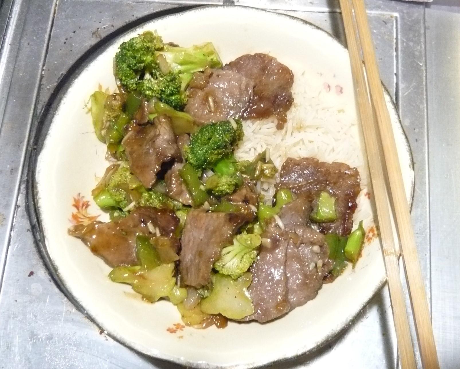Fun Karnal (Beef and Broccoli) Jan Mowbray