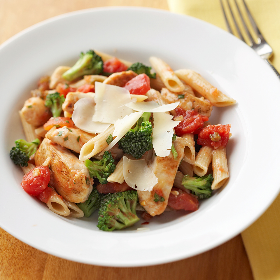 Easy Chicken Pasta Diabetic Living Magazine