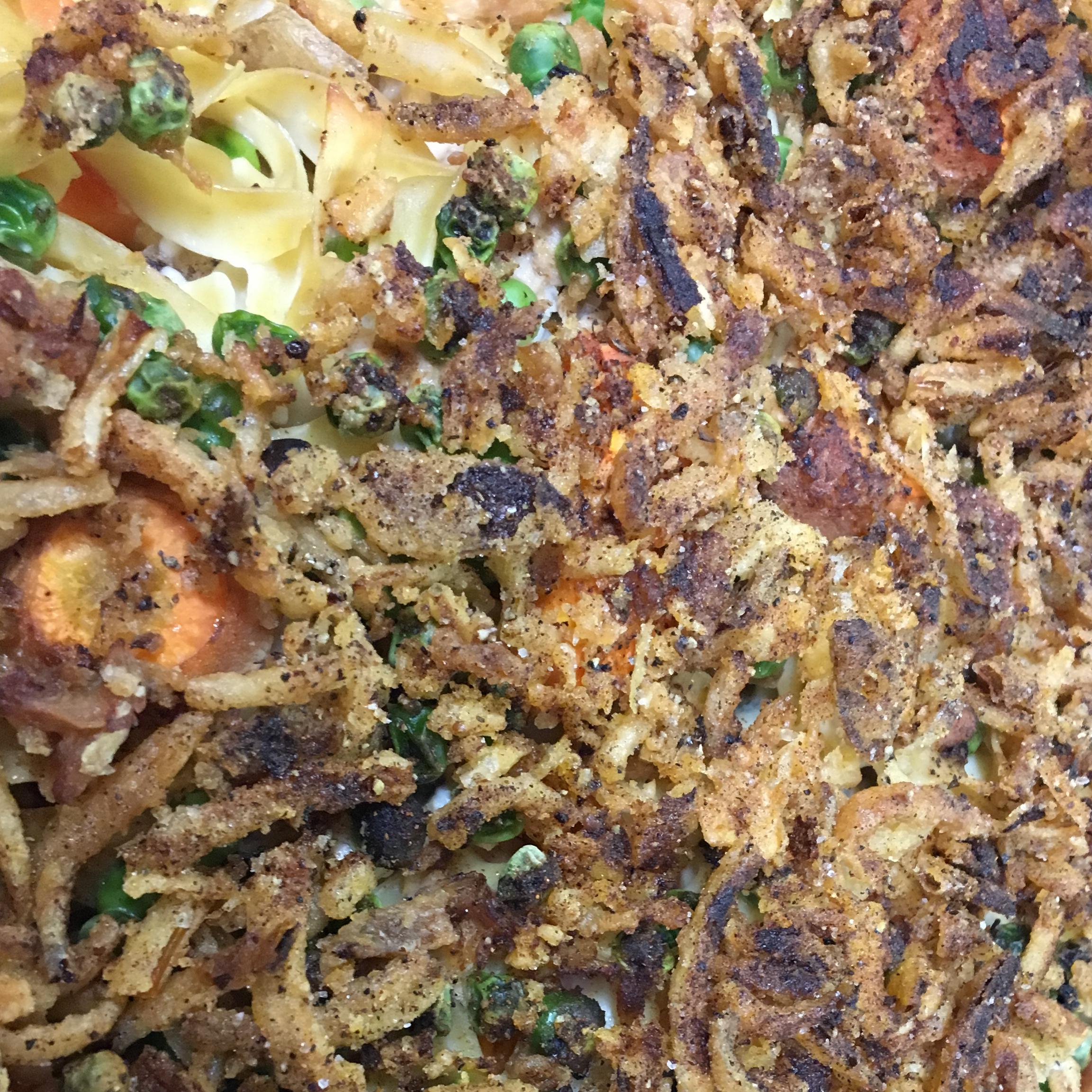 Mushroom Tuna Noodle Casserole