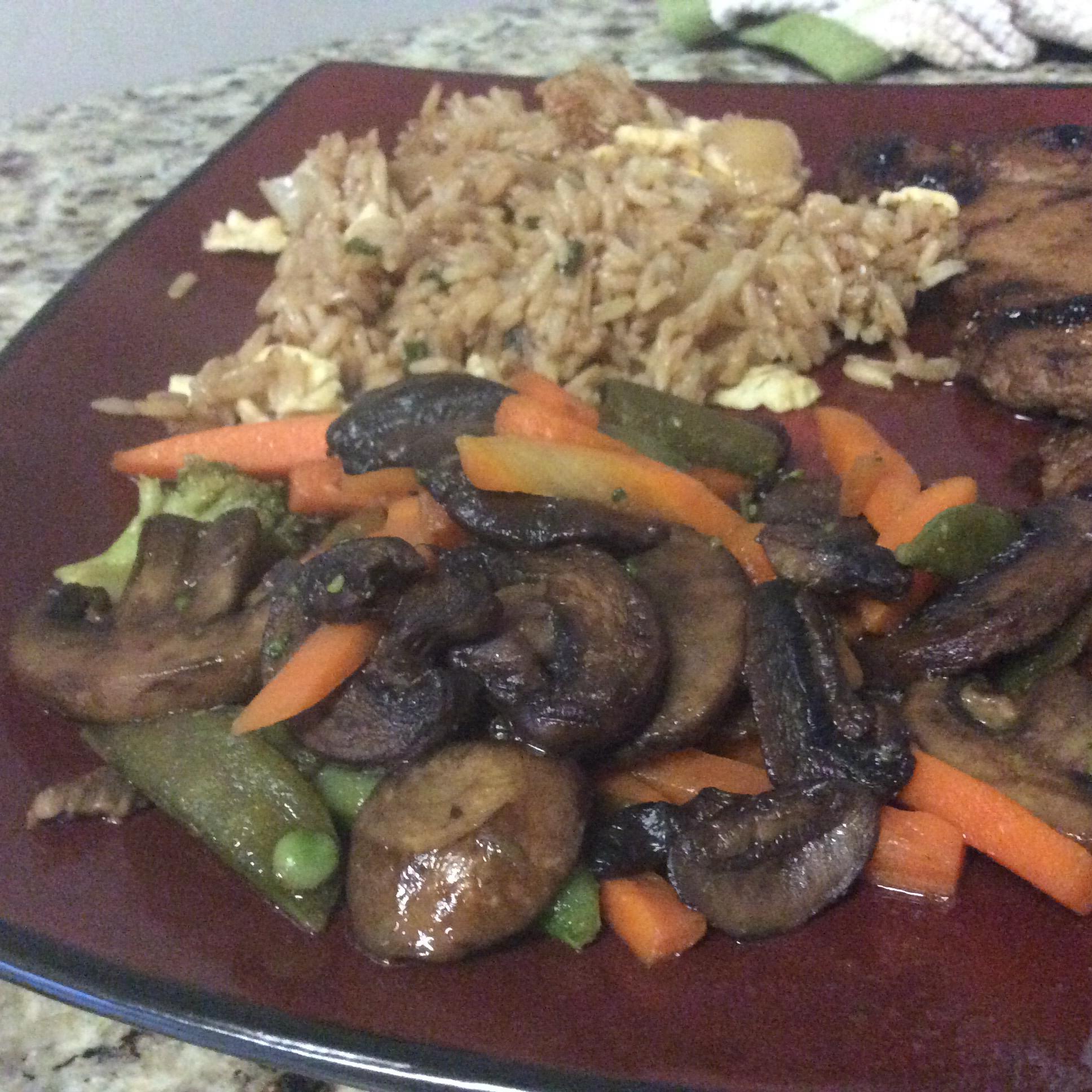 Triple Mushroom and Carrot Medley