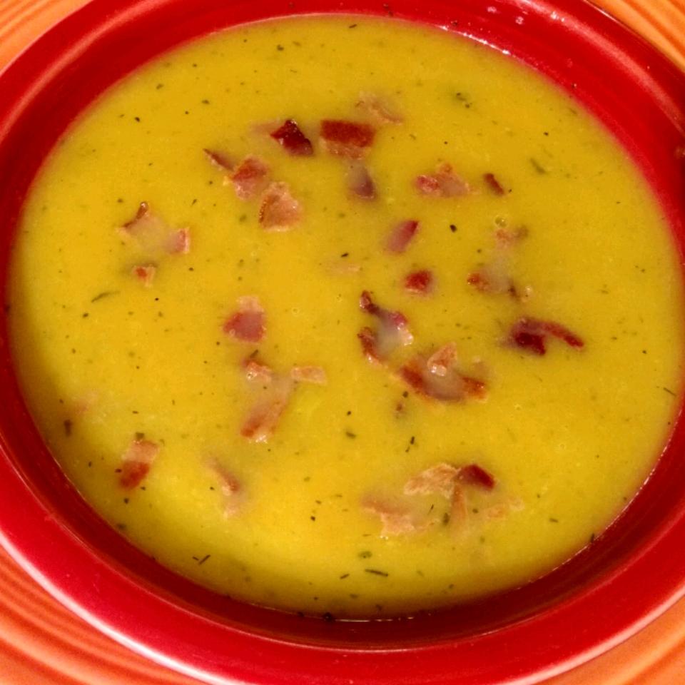 Butternut Squash And Apple Soup Recipe
