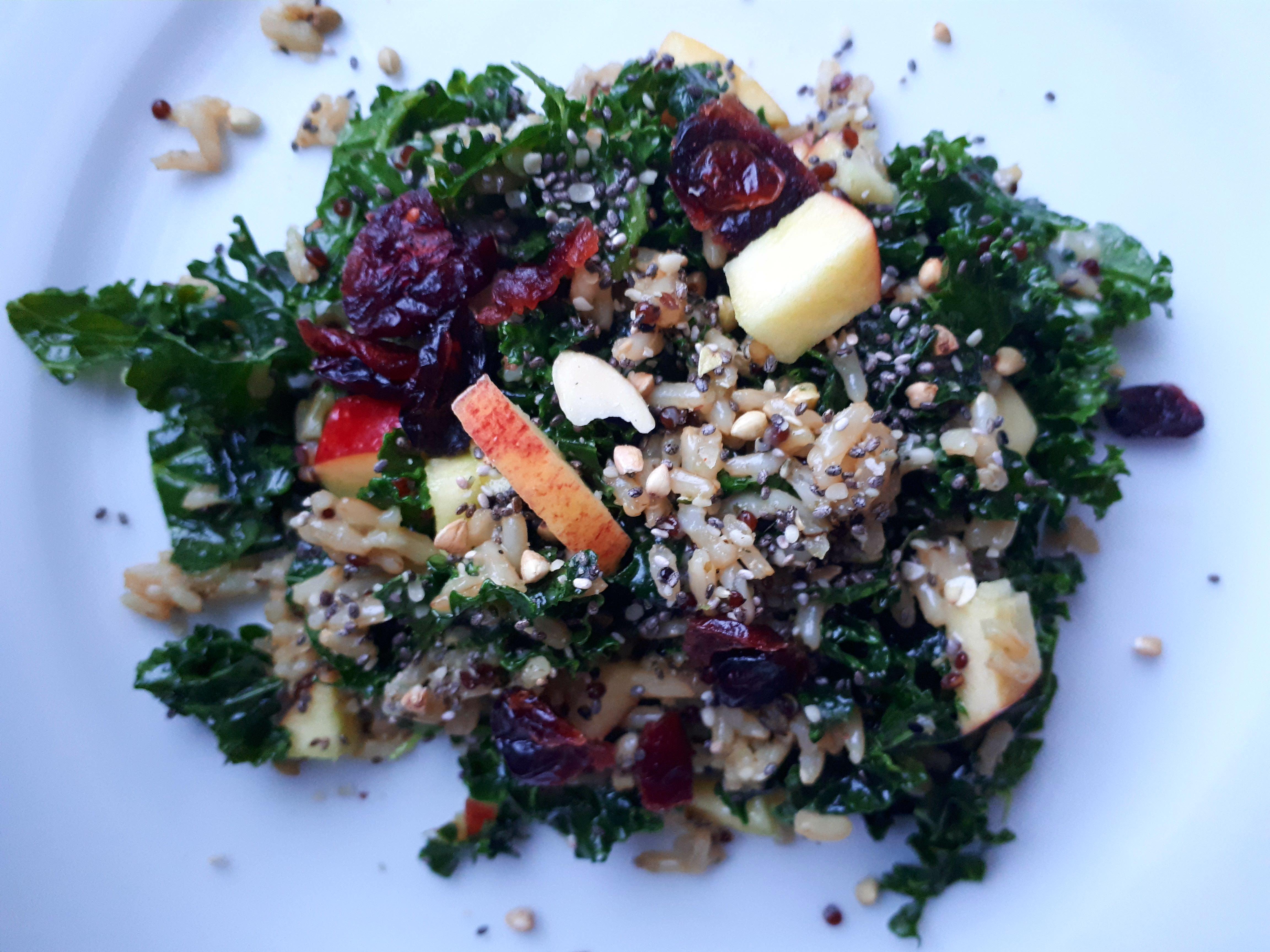 Junked Up Kale Salad