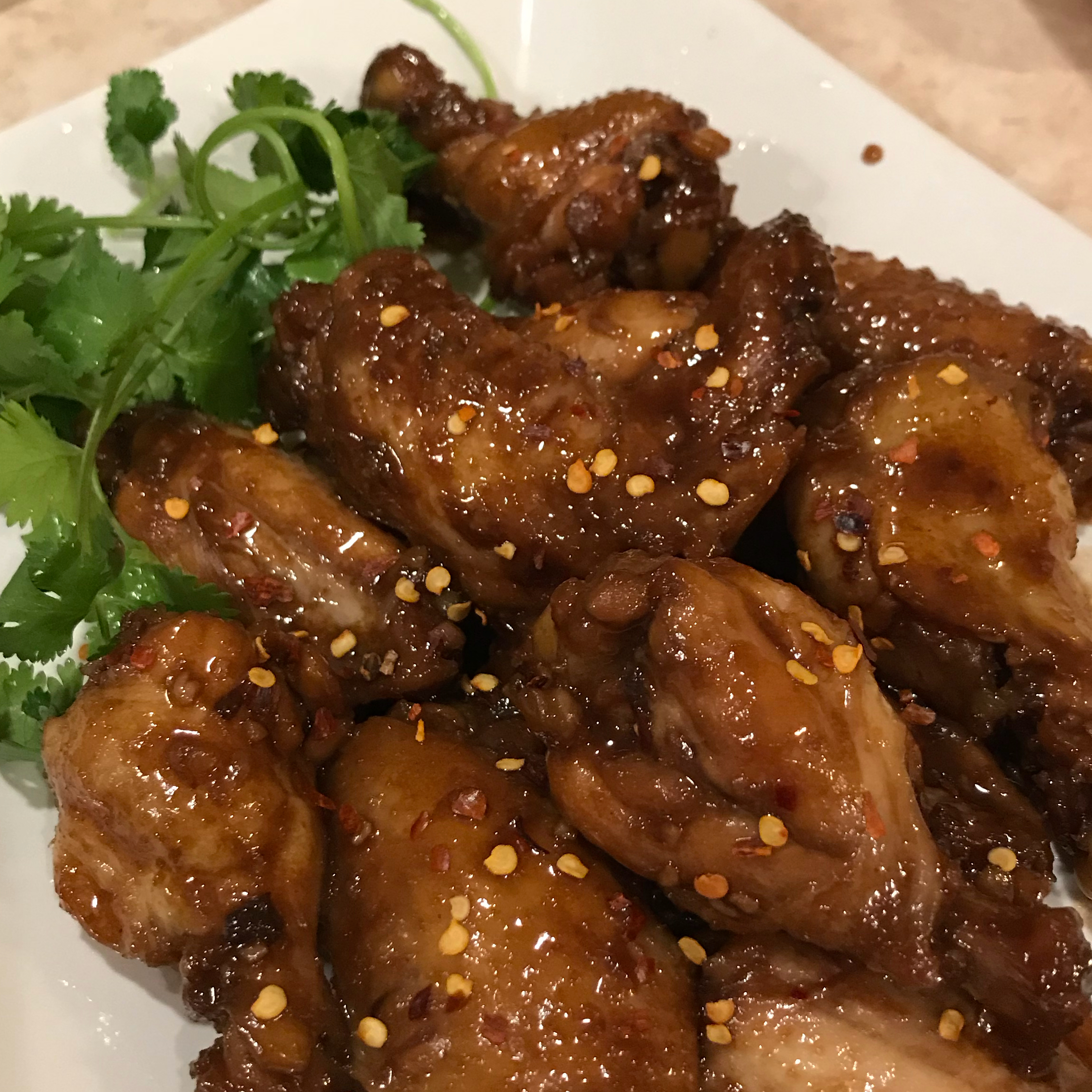 Caramelized Chicken Wings jcabatic