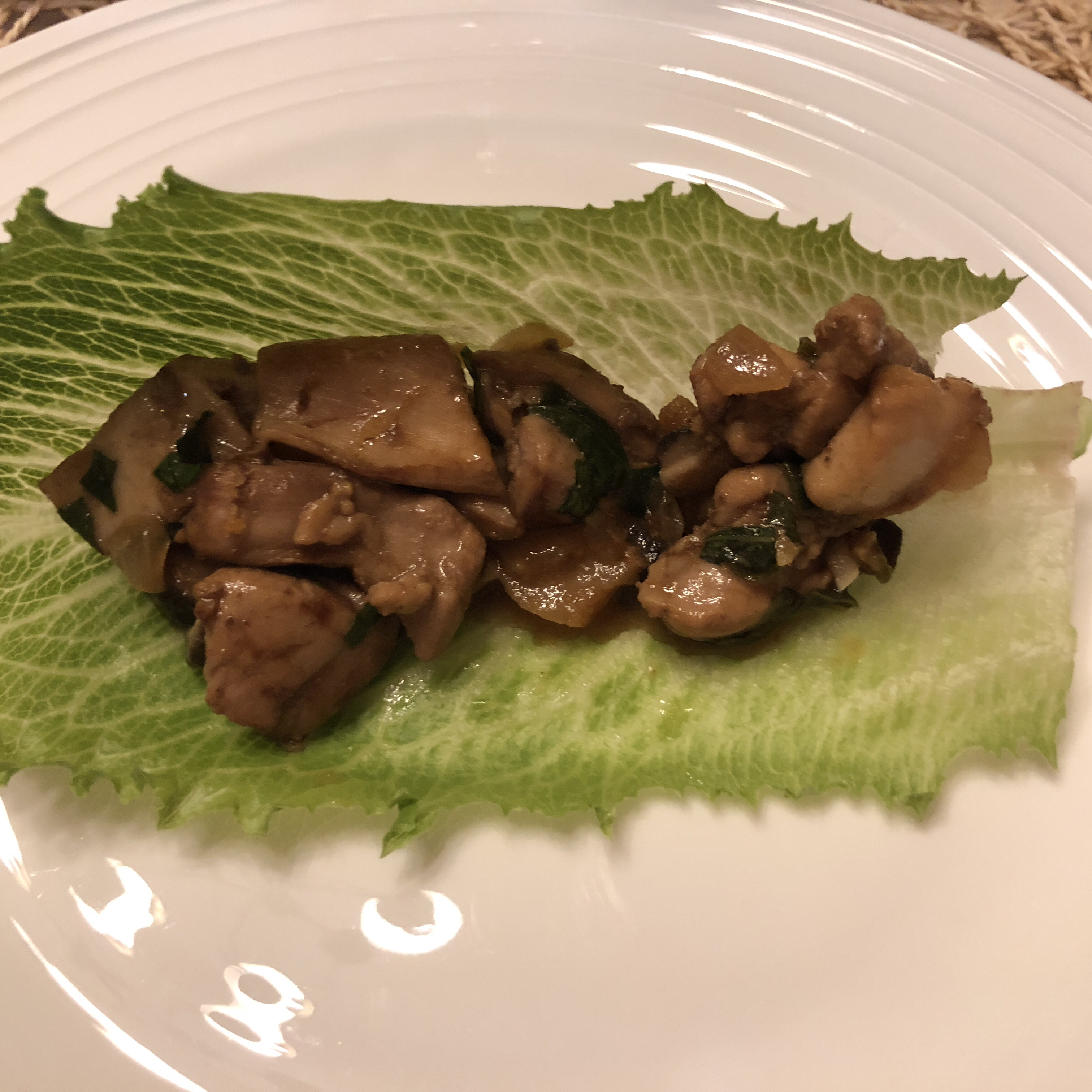 Chef John's Chicken Lettuce Wraps Raio De Luz