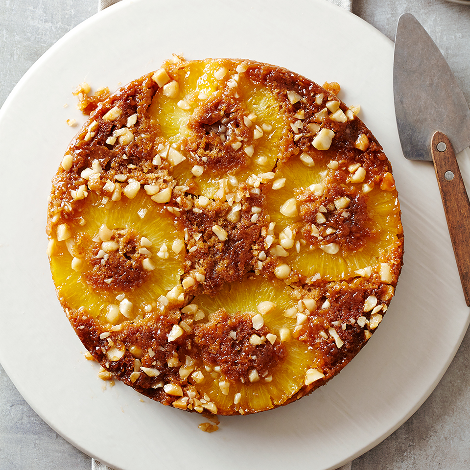 Pineapple Oatmeal Upside-Down Cake Diabetic Living Magazine
