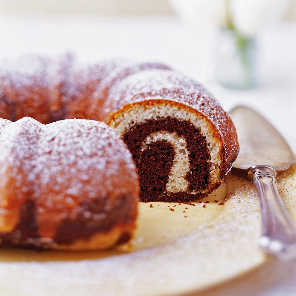 Coffee-Chocolate Marble Cake Diabetic Living Magazine