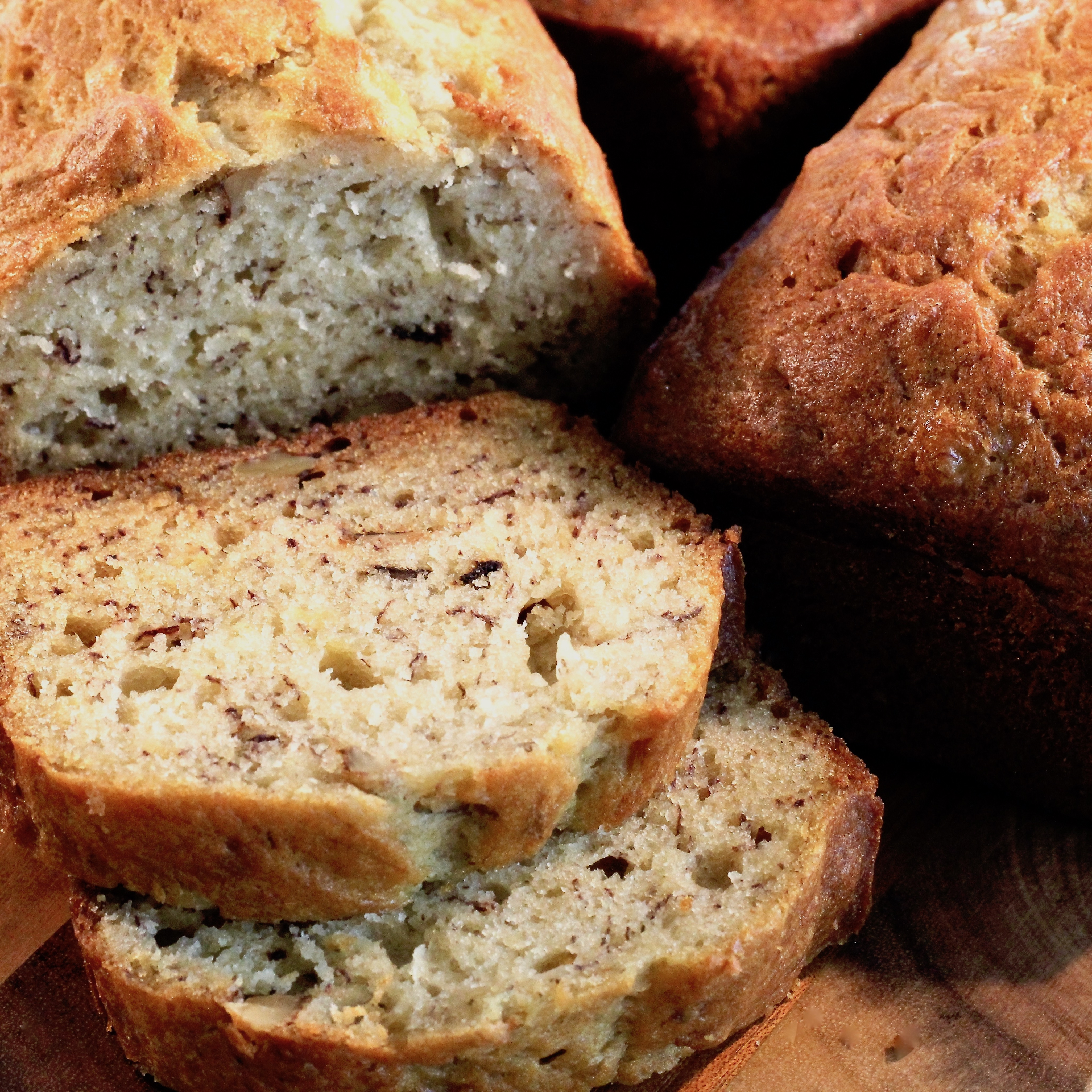 Lower Fat Banana Bread I