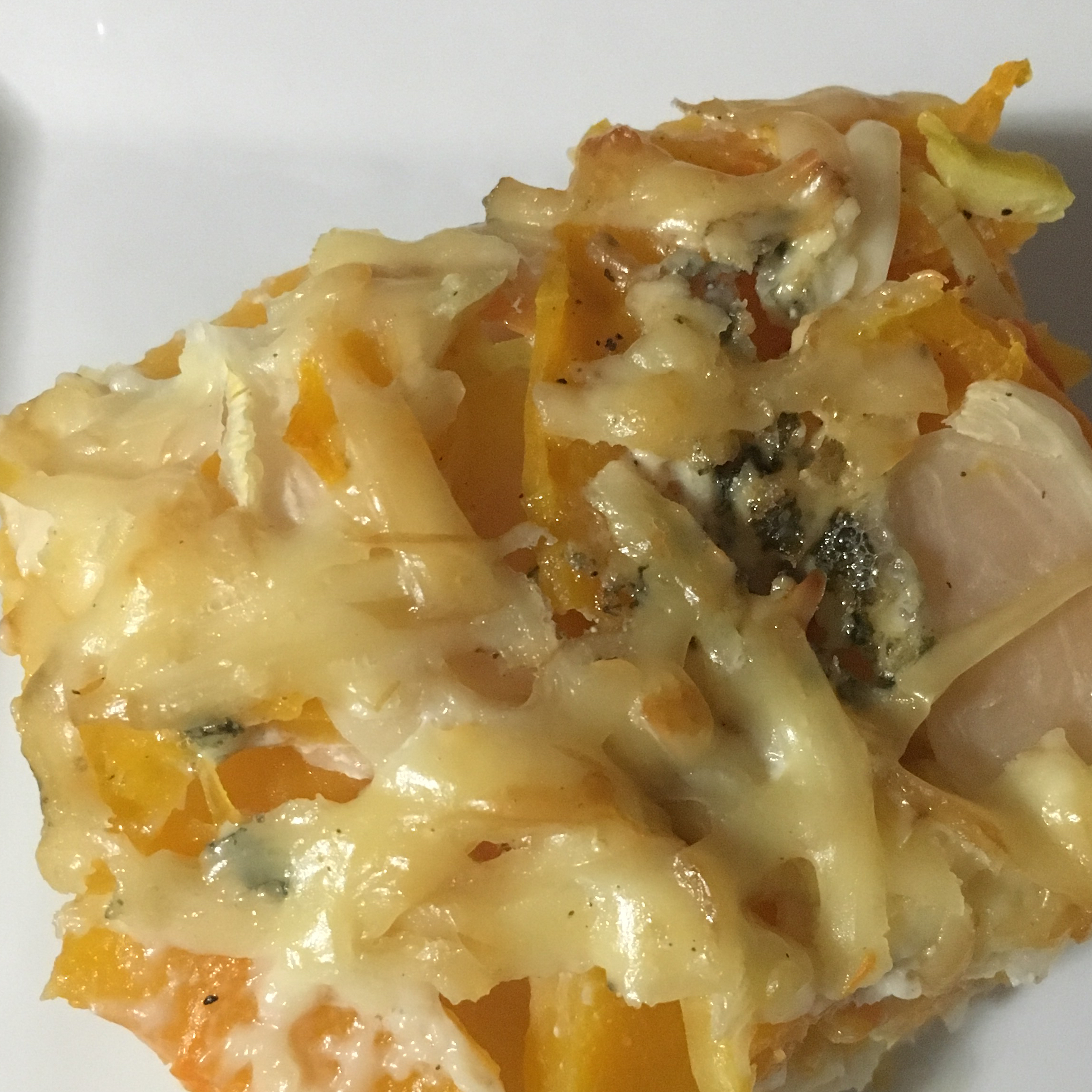 Turnip and Blue Cheese Gratin Jessica.nemec