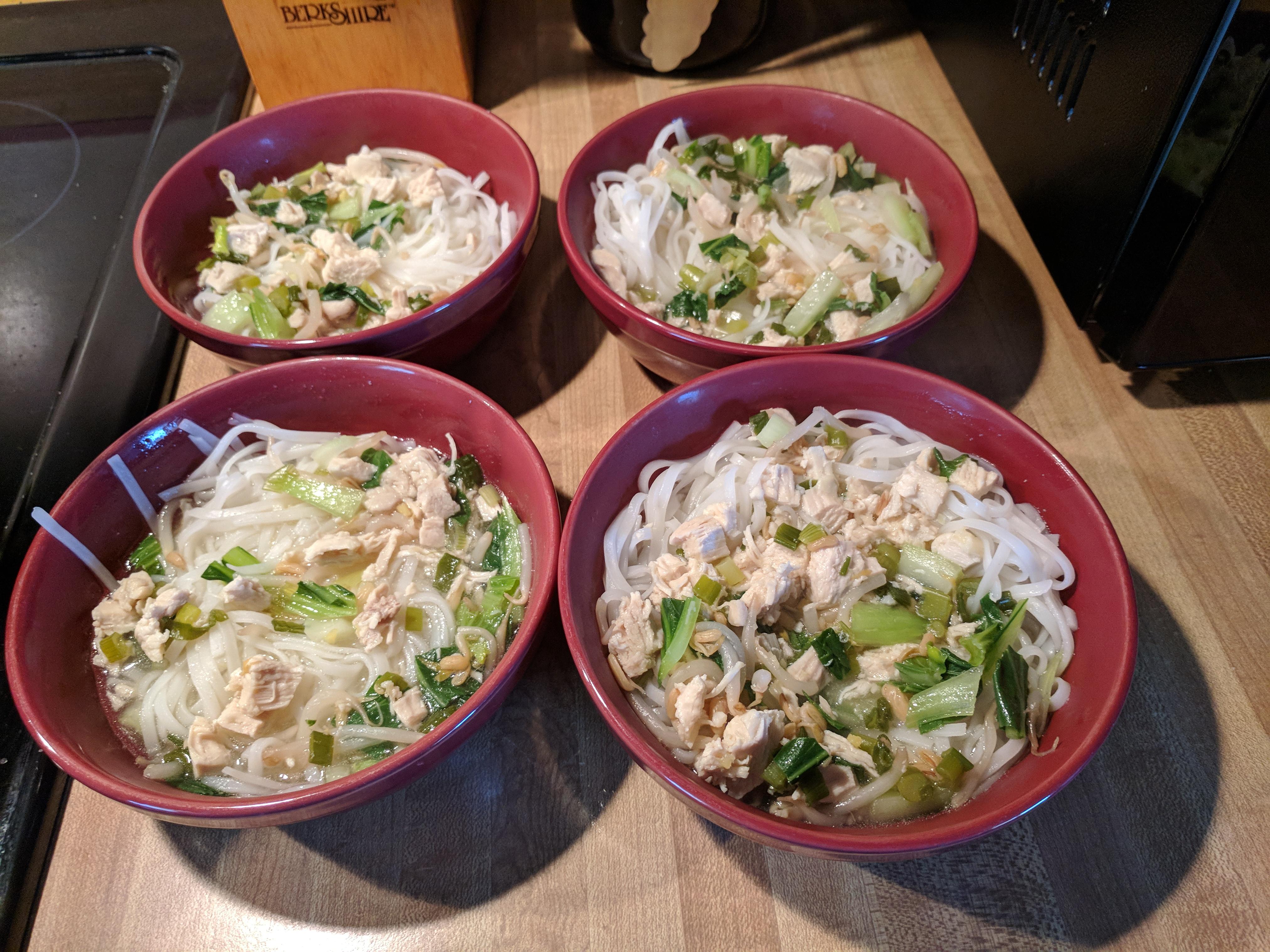 My Chicken Pho Recipe Barbara Reandeau Rypkema