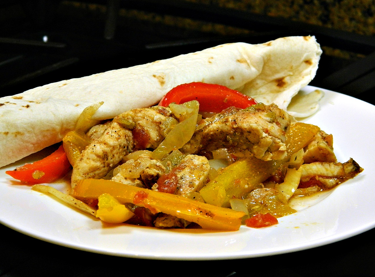Quick and Easy Baked Chicken Fajitas Nancy Ball