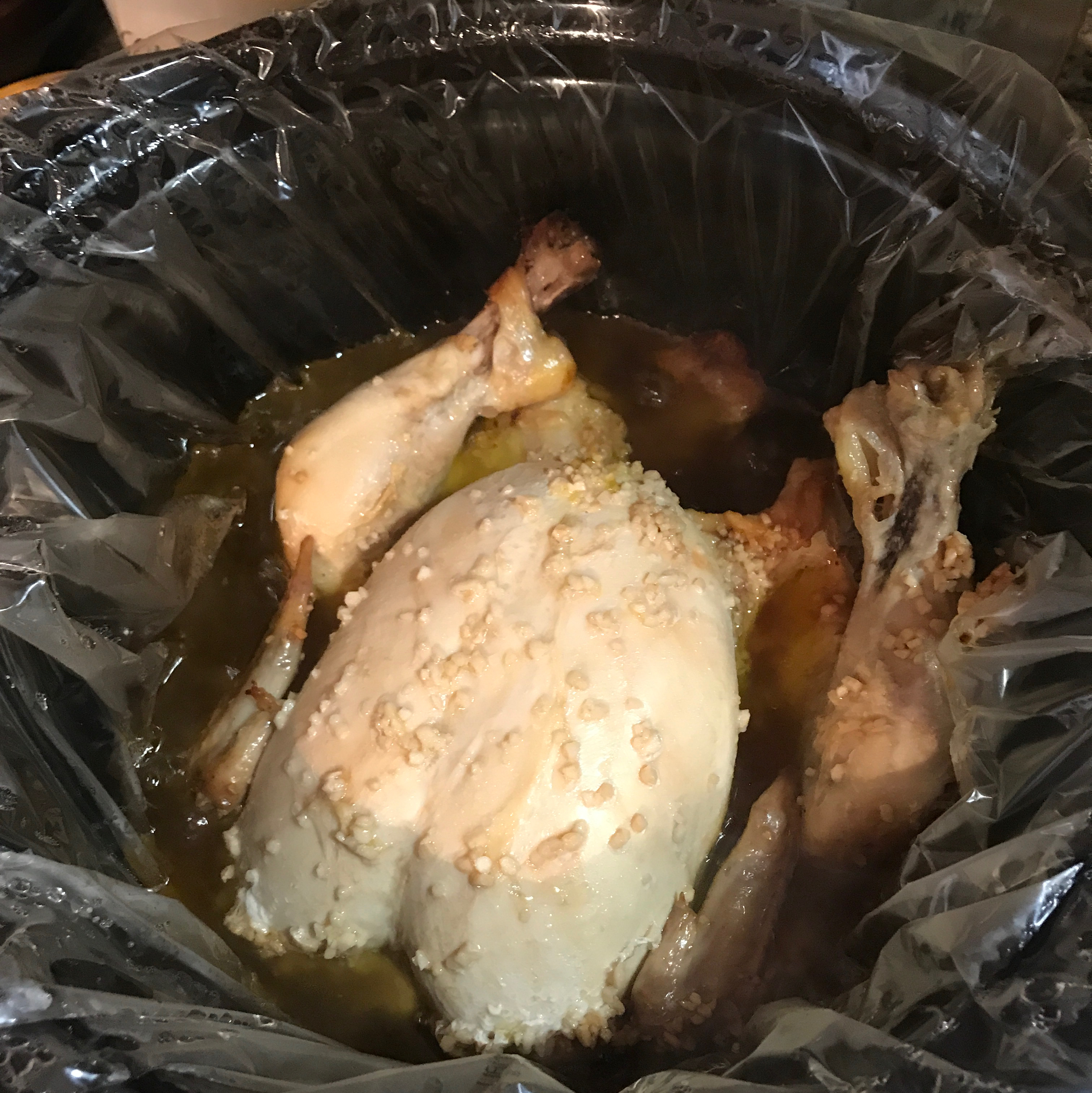 Kathy's Delicious Whole Slow Cooker Chicken Ashbug