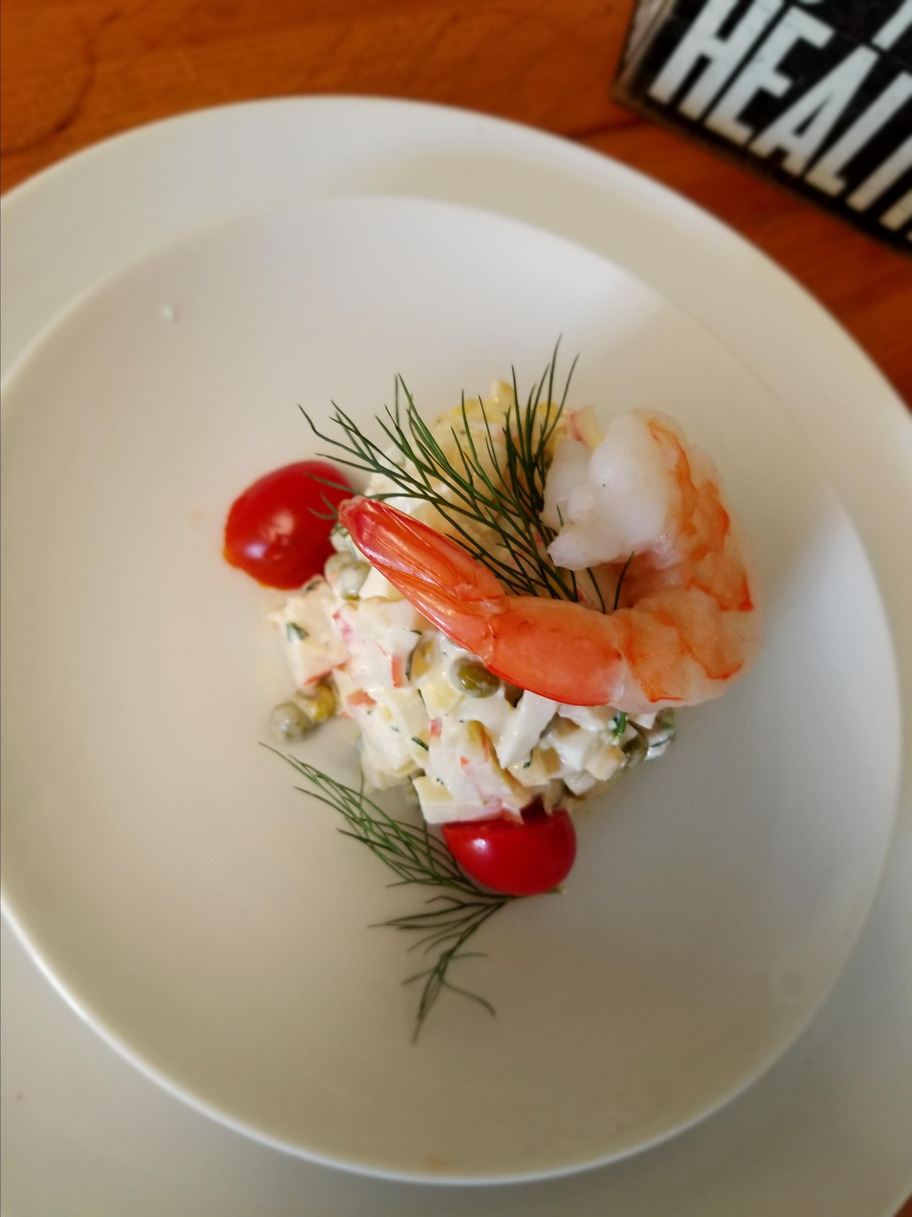Simple Crab and Shrimp Salad_image