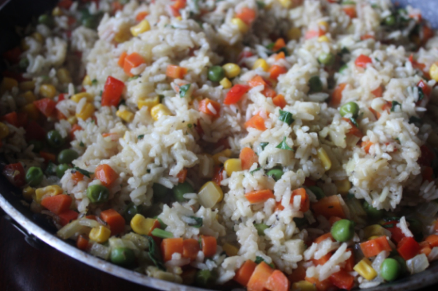 Awesome Rice Pilaf mommyluvs2cook