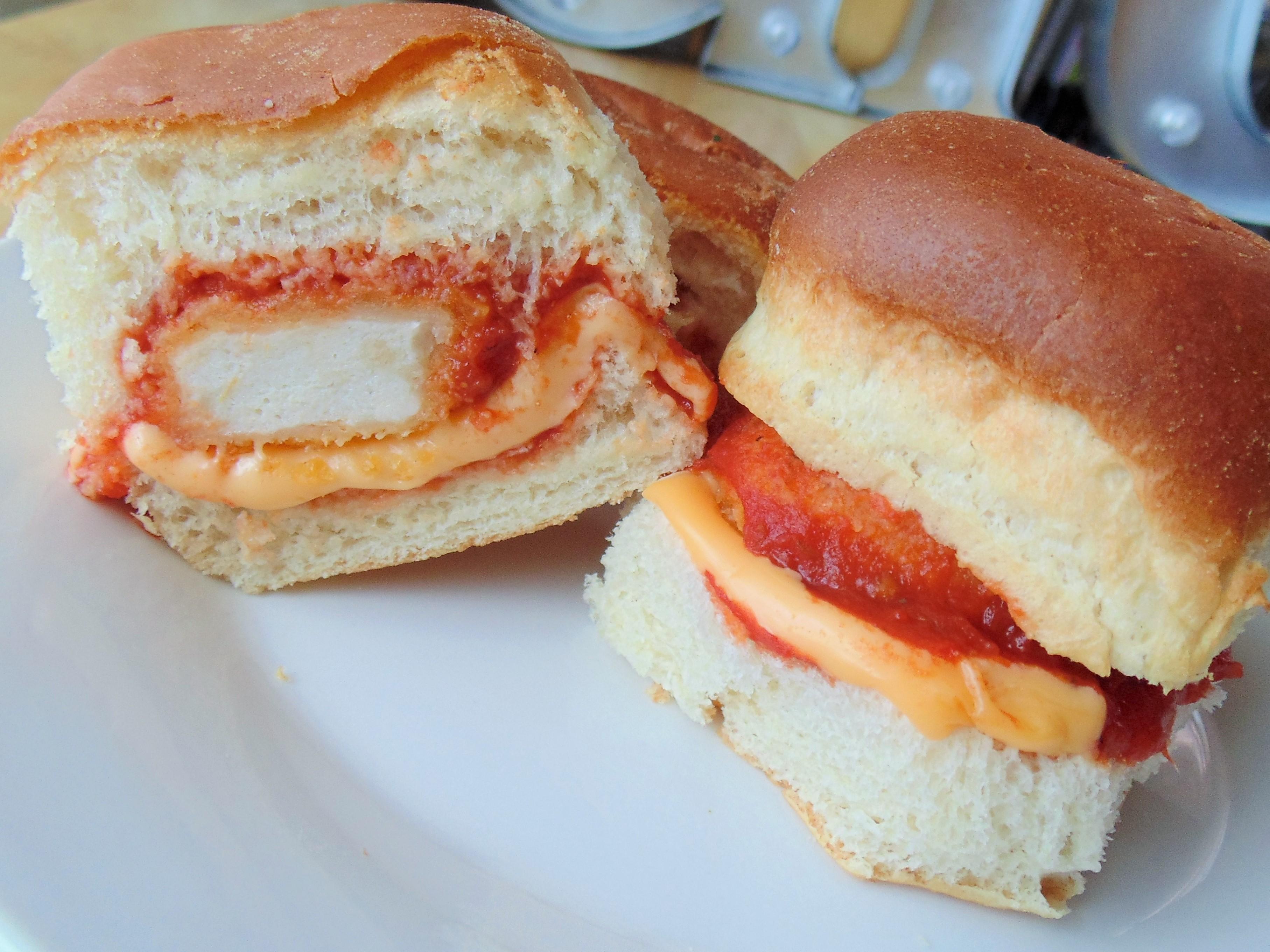 Easy Chicken Parmesan Sandwich Christina