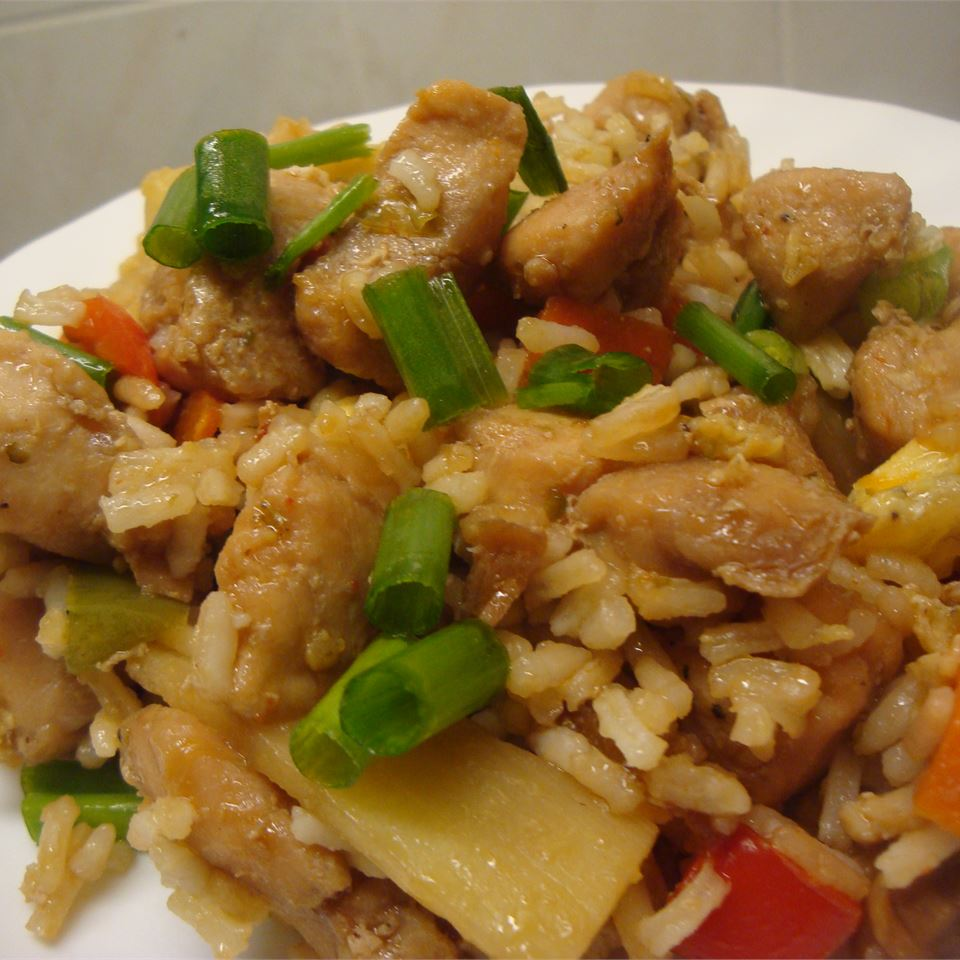 Chinese Chicken Fried Rice I sal