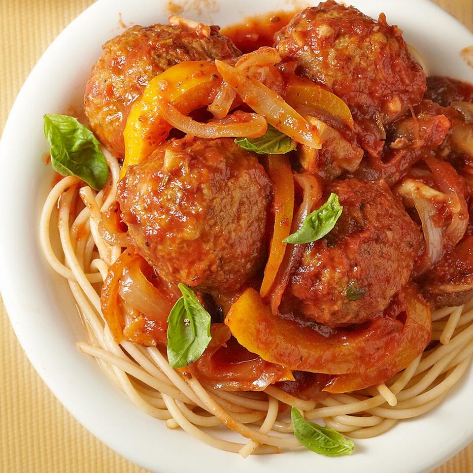 Ultimate Spaghetti and Meatballs Diabetic Living Magazine
