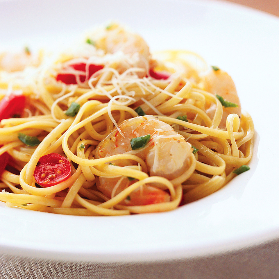 Spicy Jalapeno-Shrimp Pasta Diabetic Living Magazine
