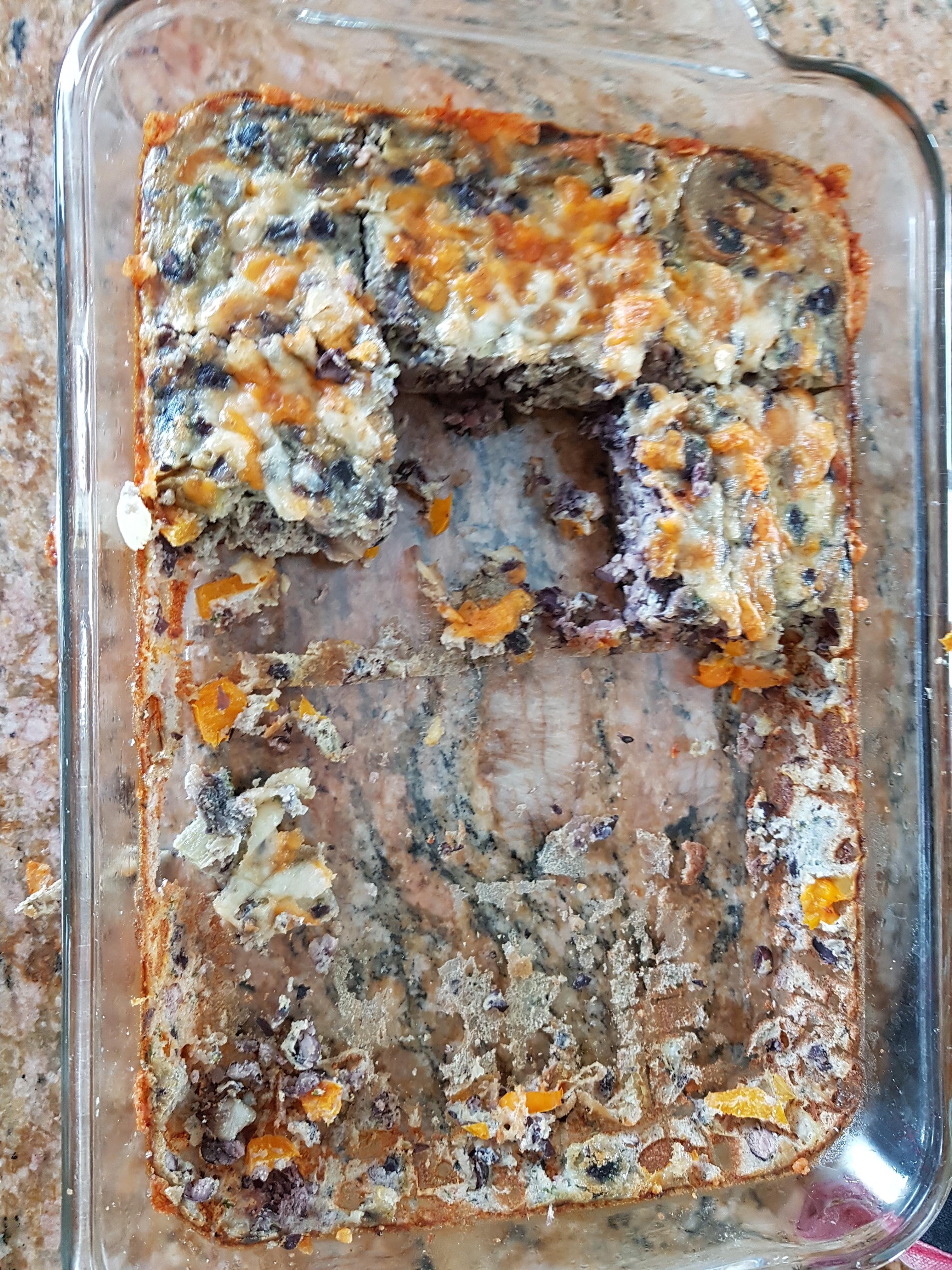 Cheesy Vegetarian Egg Bake Megs