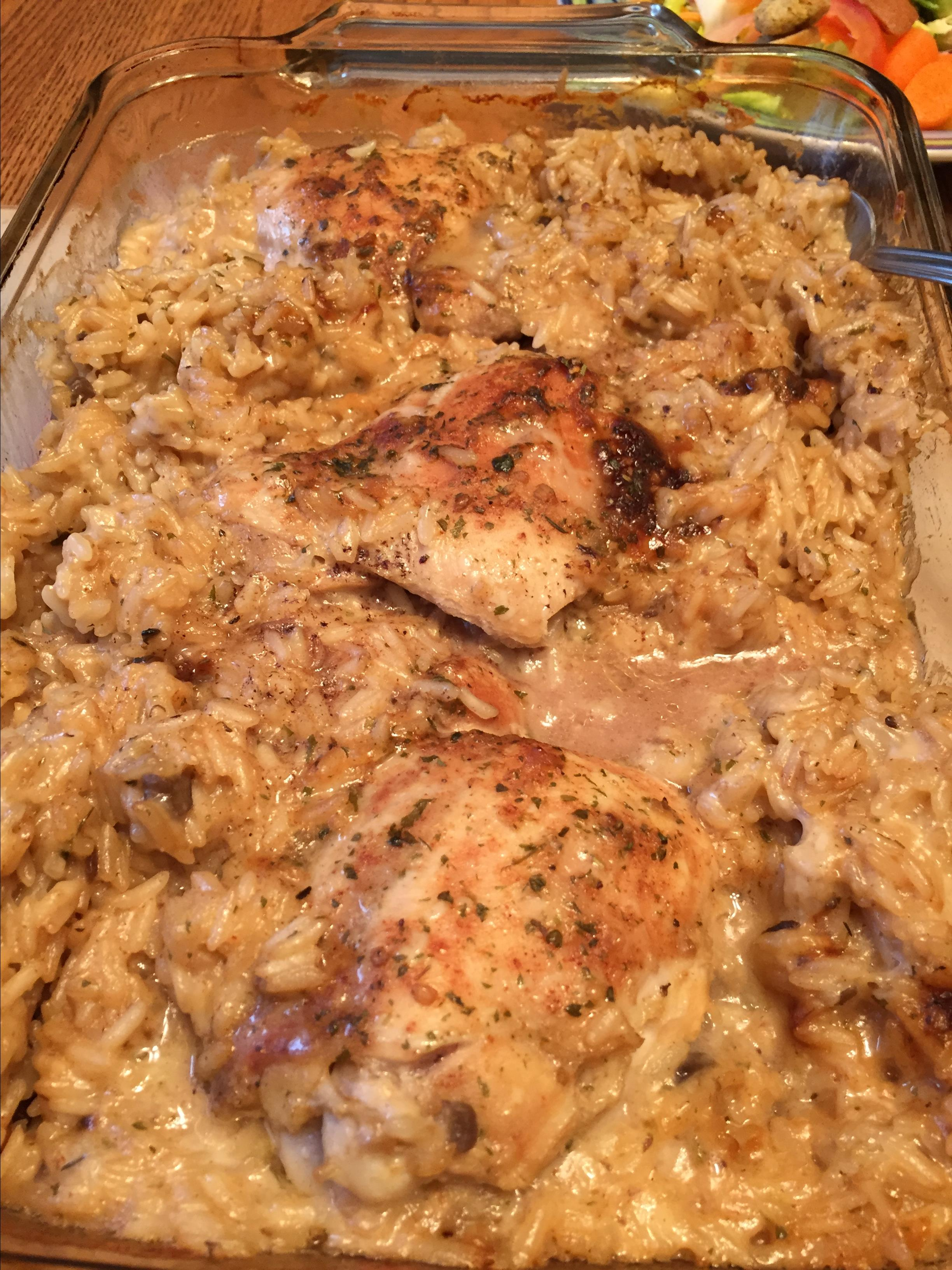 Chicken and Rice Casserole I tcasa