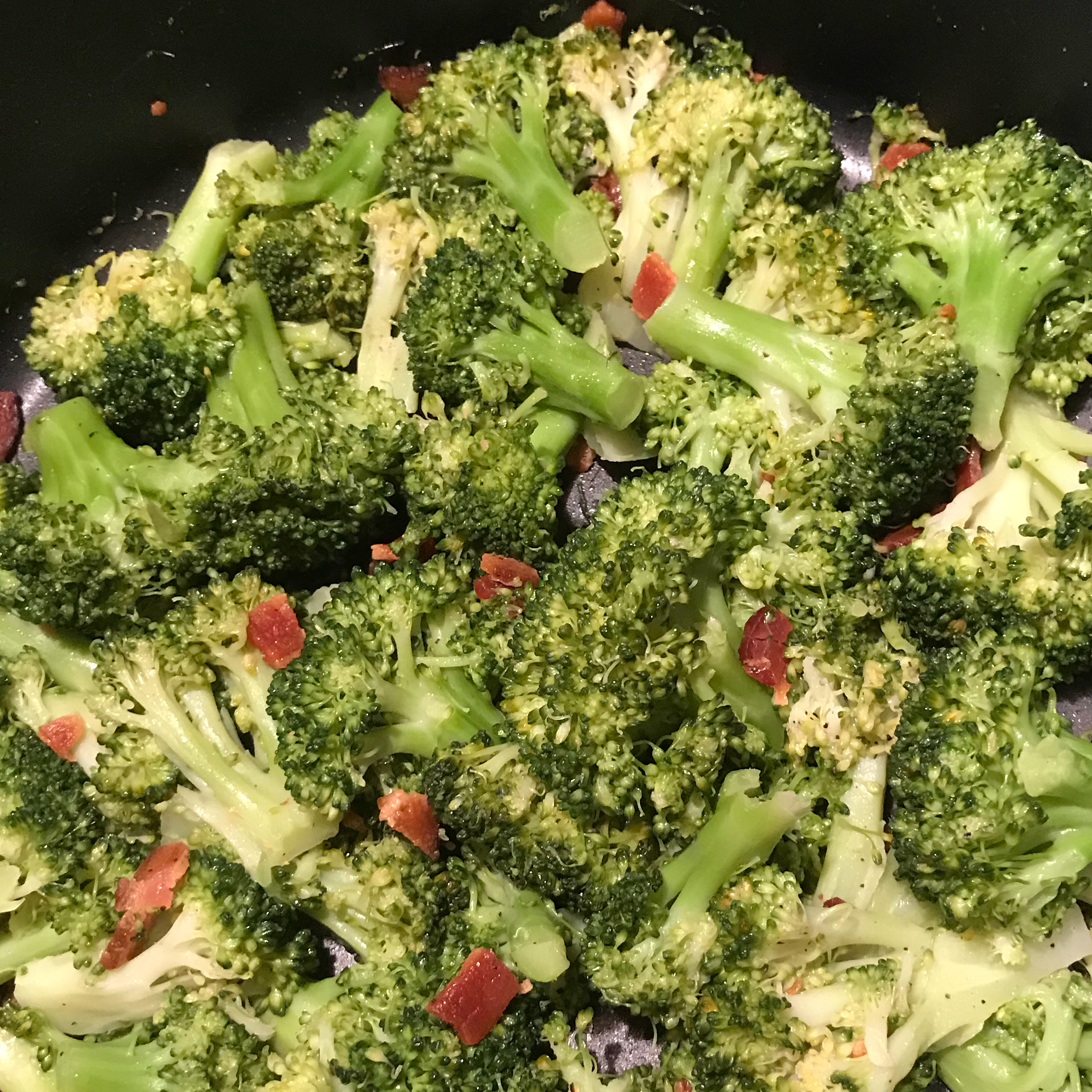 Steamed Broccoli Judy K